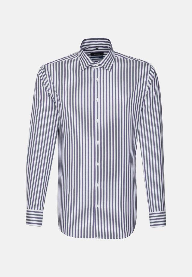 Bügelfreies Twill Business Hemd in Tailored mit Kentkragen in Lila |  Seidensticker Onlineshop