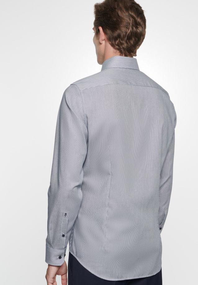 Bügelfreies Twill Business Hemd in Slim mit Kentkragen in blau |  Seidensticker Onlineshop