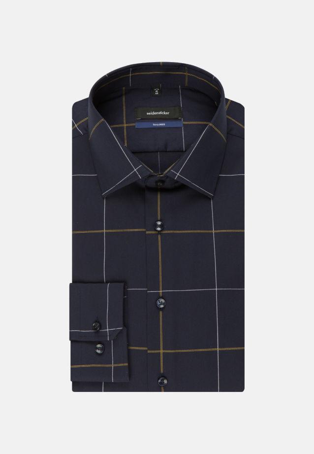 Bügelfreies Twill Business Hemd in Shaped mit Kentkragen in Gelb |  Seidensticker Onlineshop