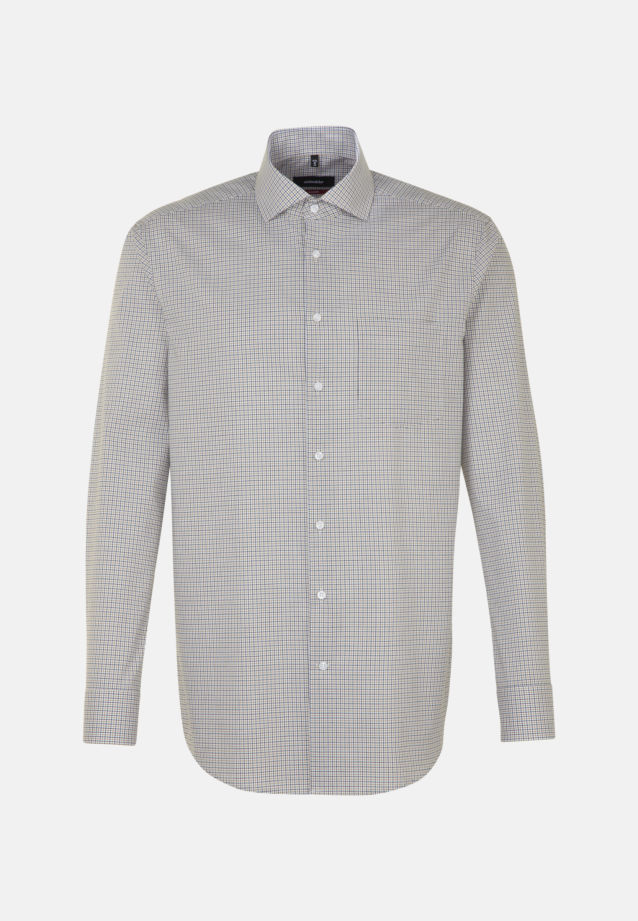 Non-iron Poplin Business Shirt in Regular with Kent-Collar in Yellow |  Seidensticker Onlineshop