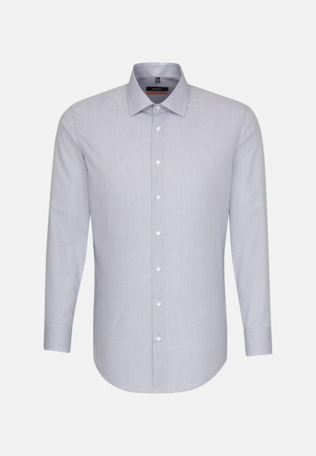 Business Shirt Slim Extra Short Arm Kent-collar in Dark blue |  Seidensticker Onlineshop