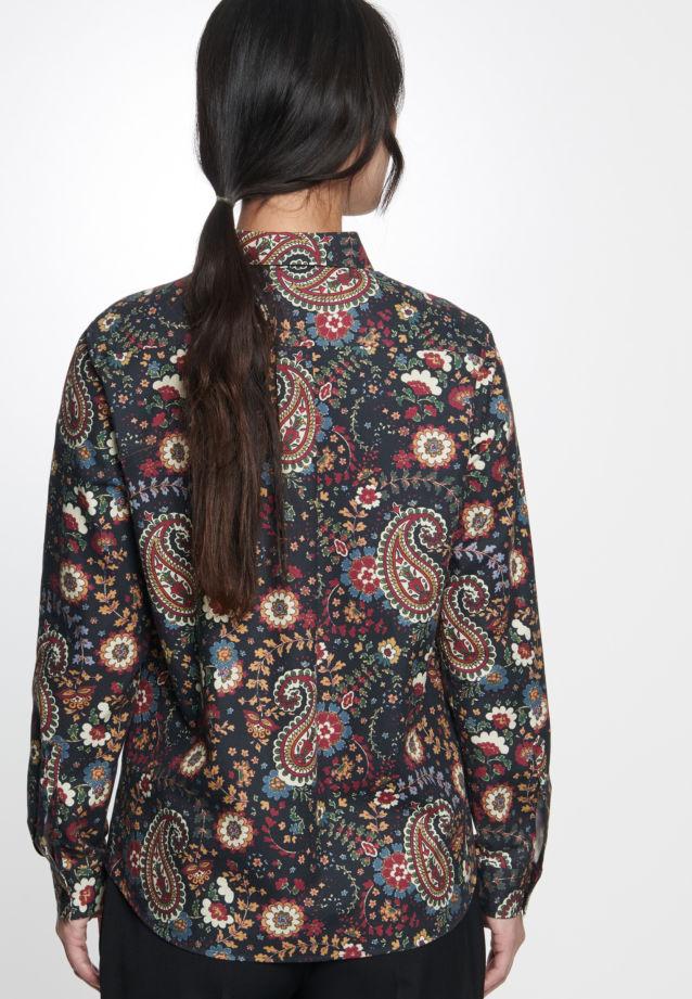 Twill Hemdbluse aus 100% Baumwolle in anthra |  Seidensticker Onlineshop