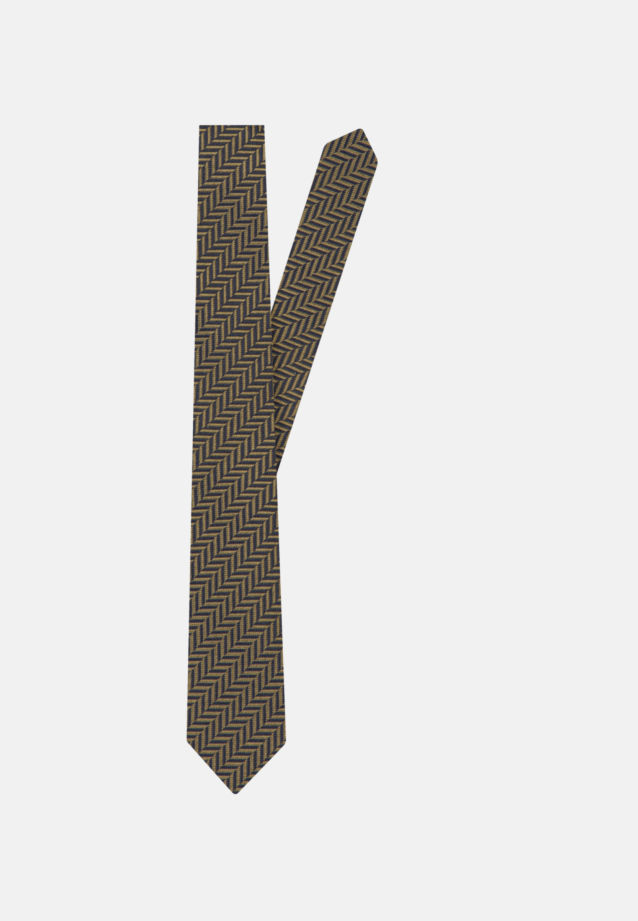 Tie made of 100% Silk 7 cm wide in Yellow |  Seidensticker Onlineshop