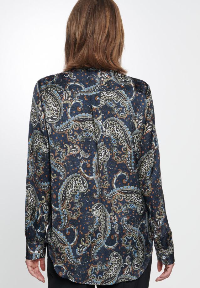 Voile Hemdbluse aus 100% Viskose in blau |  Seidensticker Onlineshop