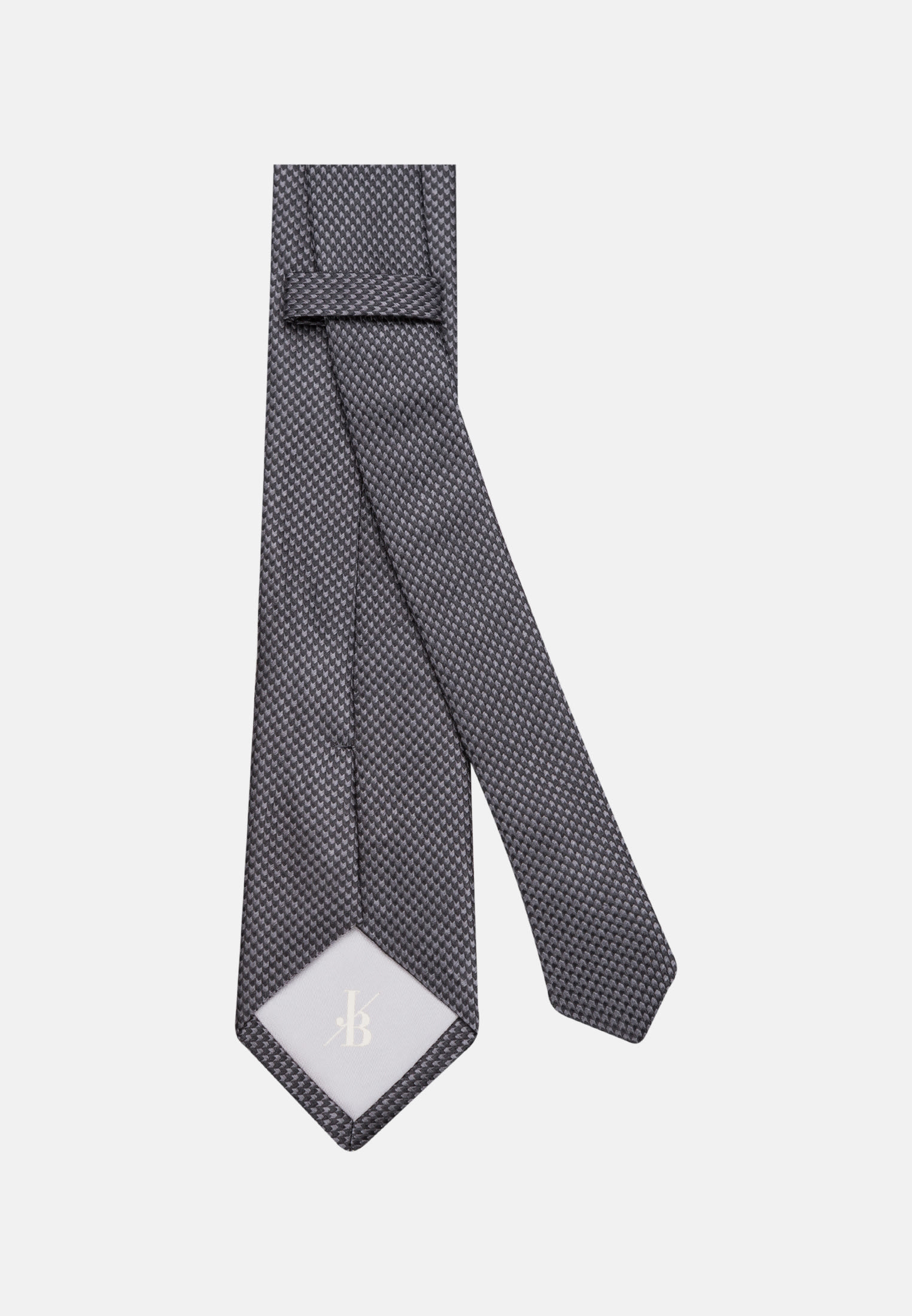 Krawatte aus 100% Seide 7 cm Breit in Schwarz    Jacques Britt Onlineshop