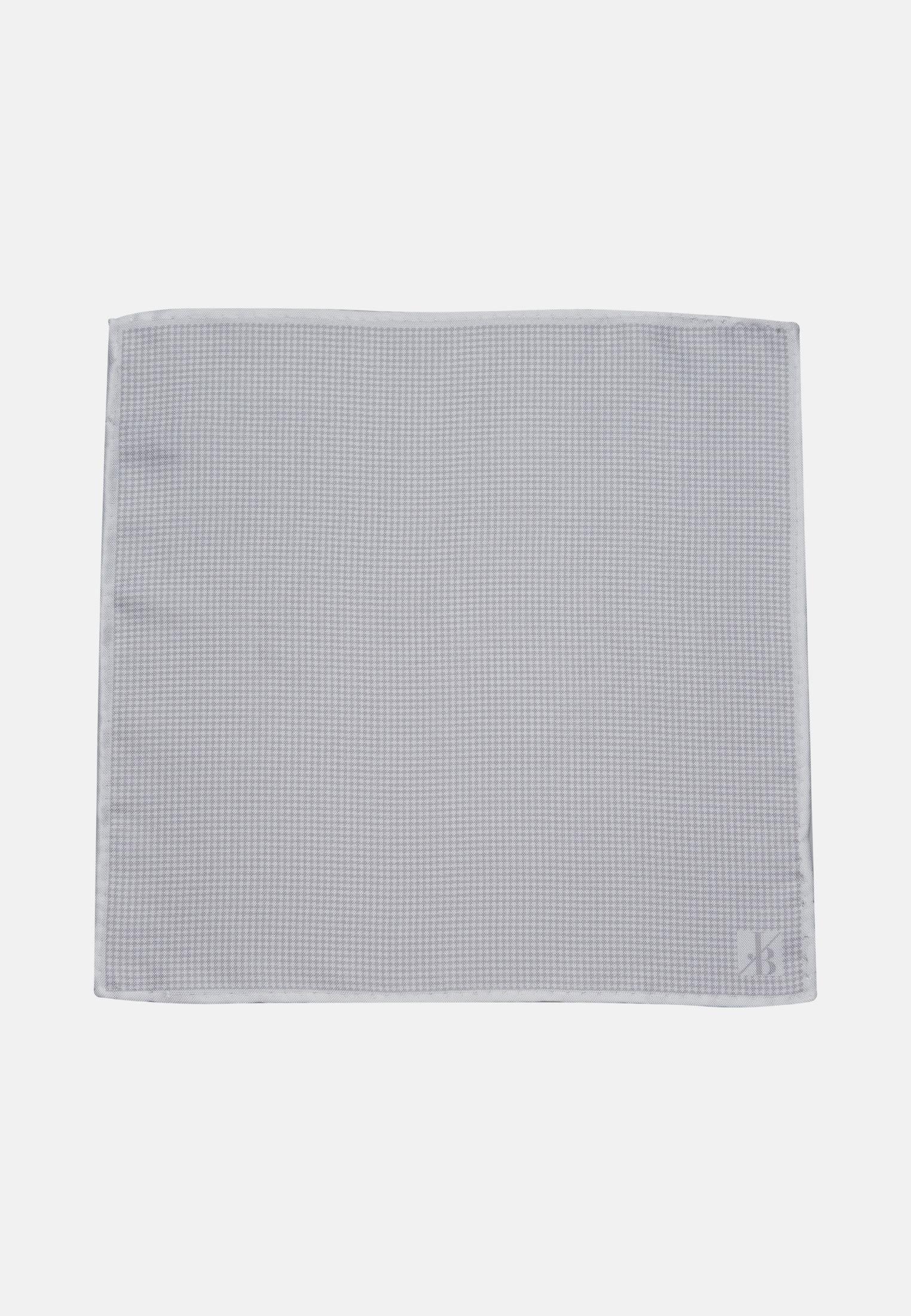 Einstecktuch aus 100% Seide in Grau |  Jacques Britt Onlineshop