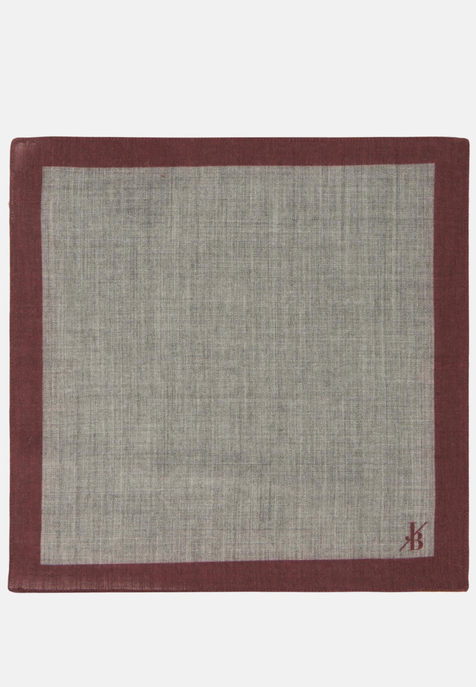 Einstecktuch aus 100% Wolle in Grau |  Jacques Britt Onlineshop