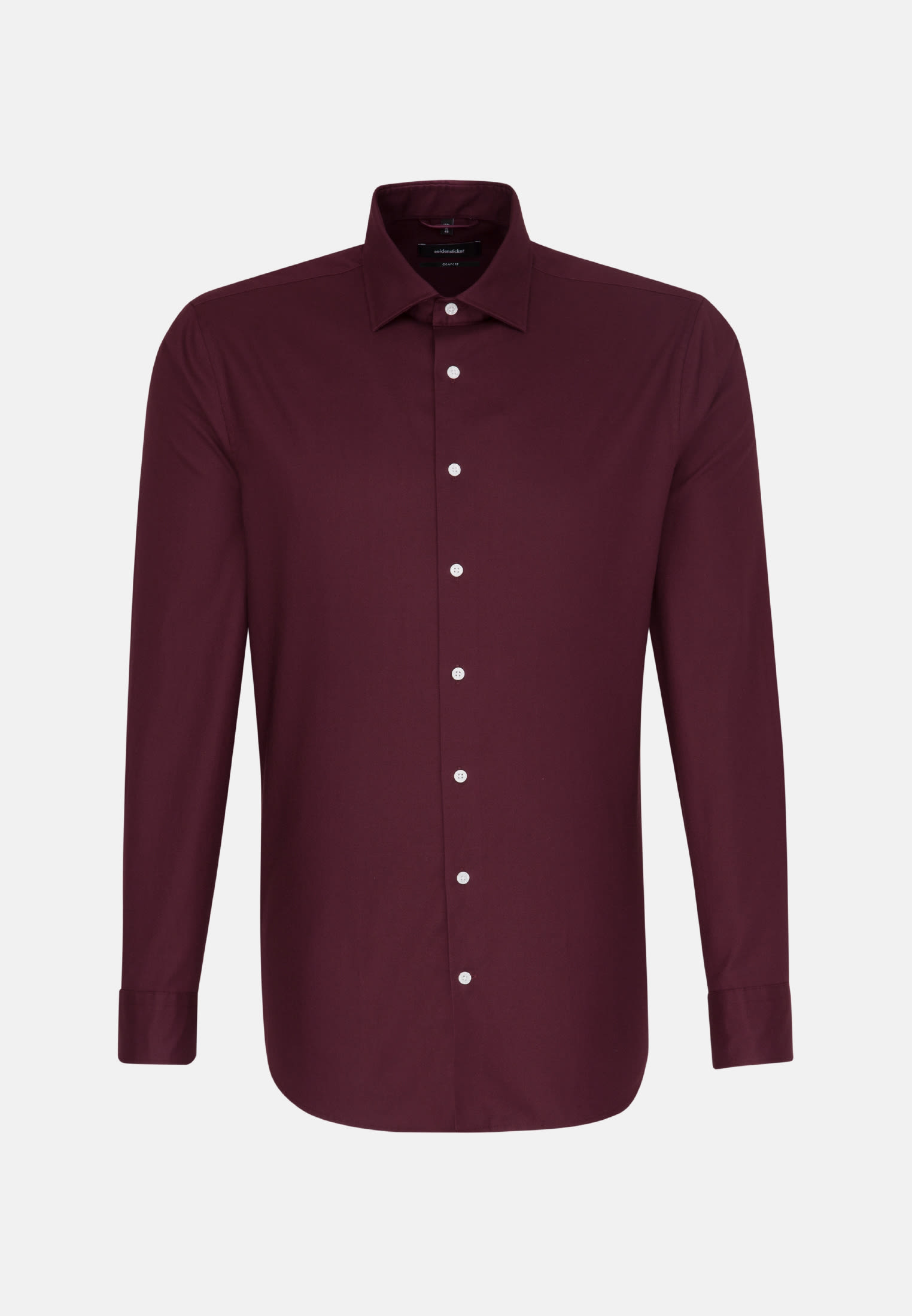 Easy-iron Twill Business Shirt in Comfort with Kent-Collar in Red |  Seidensticker Onlineshop