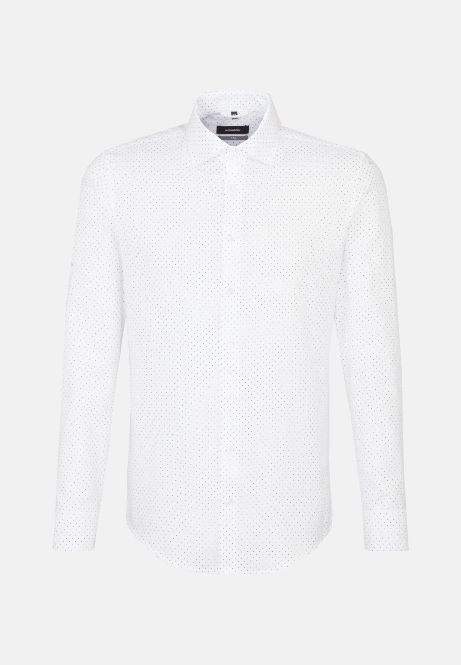 Easy-iron Poplin Business Shirt in X-Slim with Kent-Collar and extra long arm in dunkelblau |  Seidensticker Onlineshop