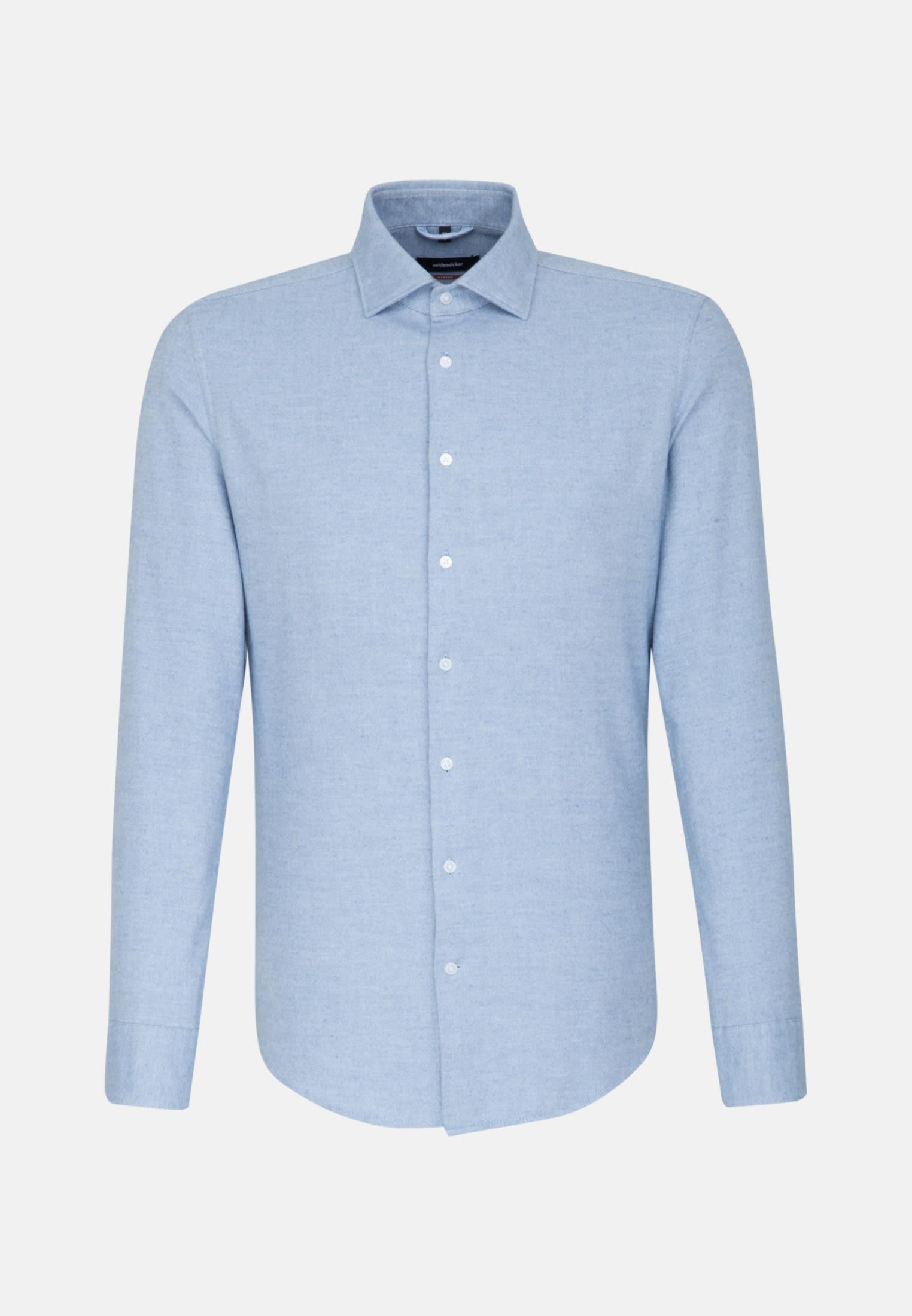 Easy-iron Oxford Business Shirt in Modern with Kent-Collar in blau |  Seidensticker Onlineshop
