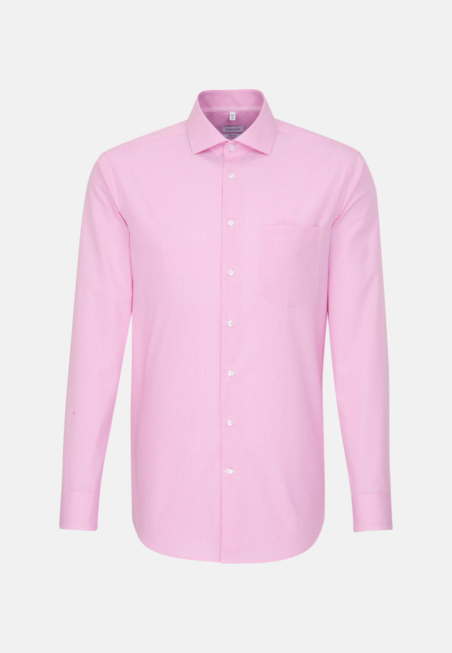 Non-iron Poplin Business Shirt in Regular with Kent-Collar in Pink |  Seidensticker Onlineshop