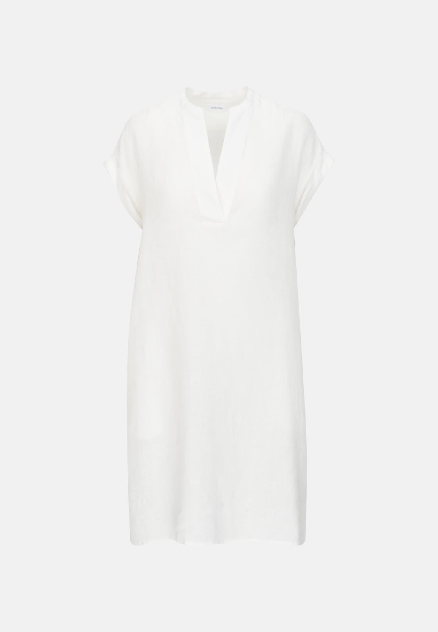 Ärmelloses Leinen Kleid aus 100% Leinen in Ecru |  Seidensticker Onlineshop