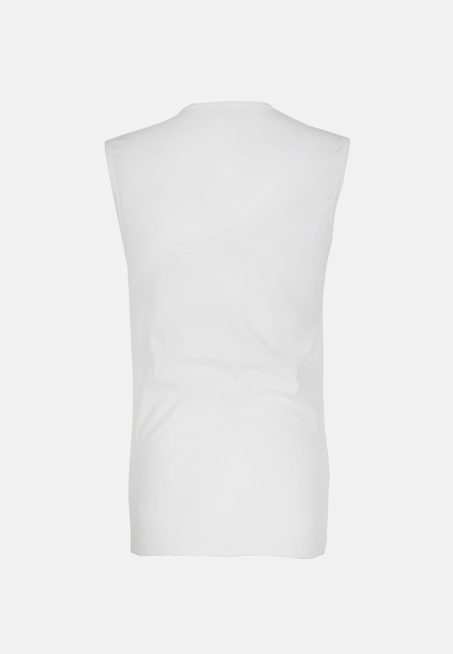 Crew Neck T-Shirt made of 95% Cotton 5% Elastane in White |  Seidensticker Onlineshop