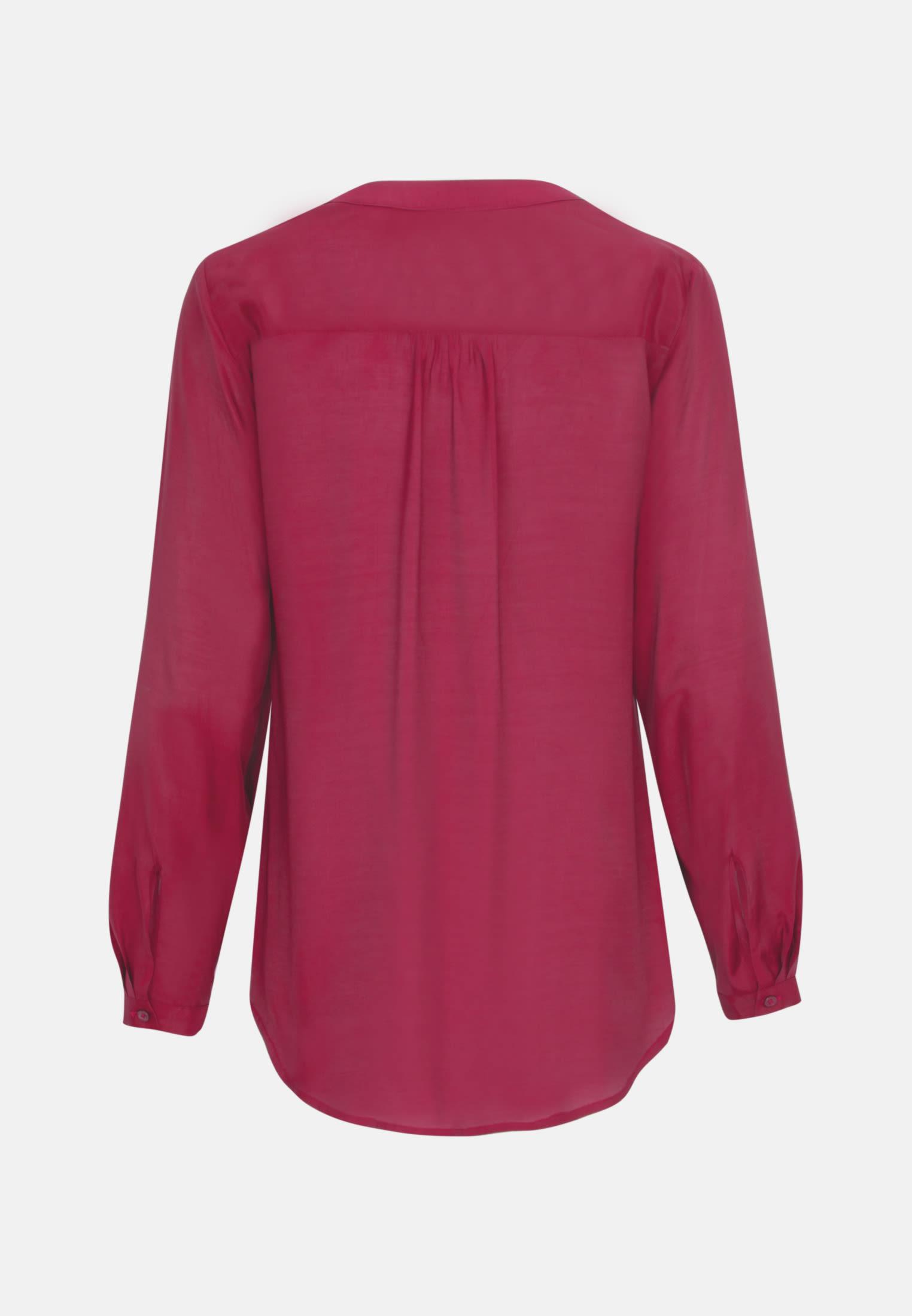 Voile Tunic made of 100% Viscose in Red |  Seidensticker Onlineshop