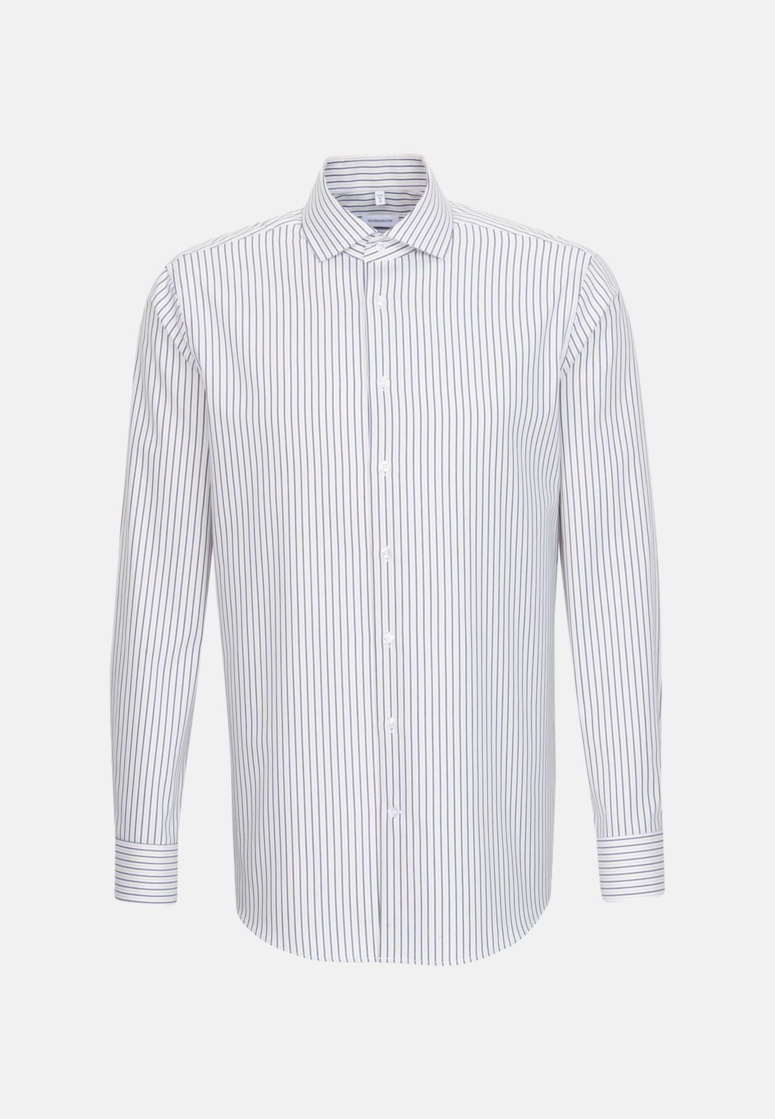 Bügelleichtes Oxford Business Hemd in Regular mit Kentkragen in Braun |  Seidensticker Onlineshop