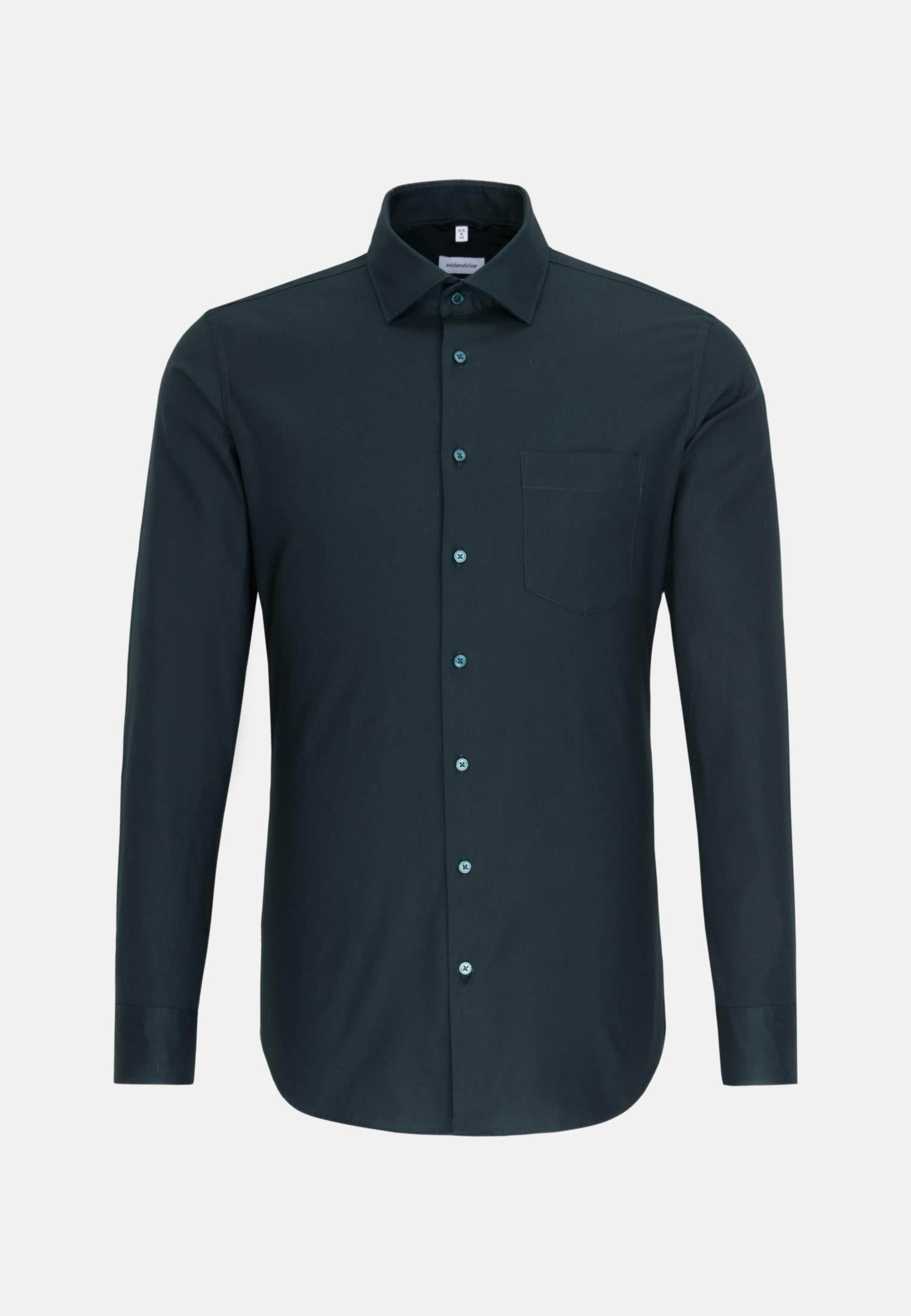 Twill Business Hemd in Slim mit Kentkragen in Grün |  Seidensticker Onlineshop