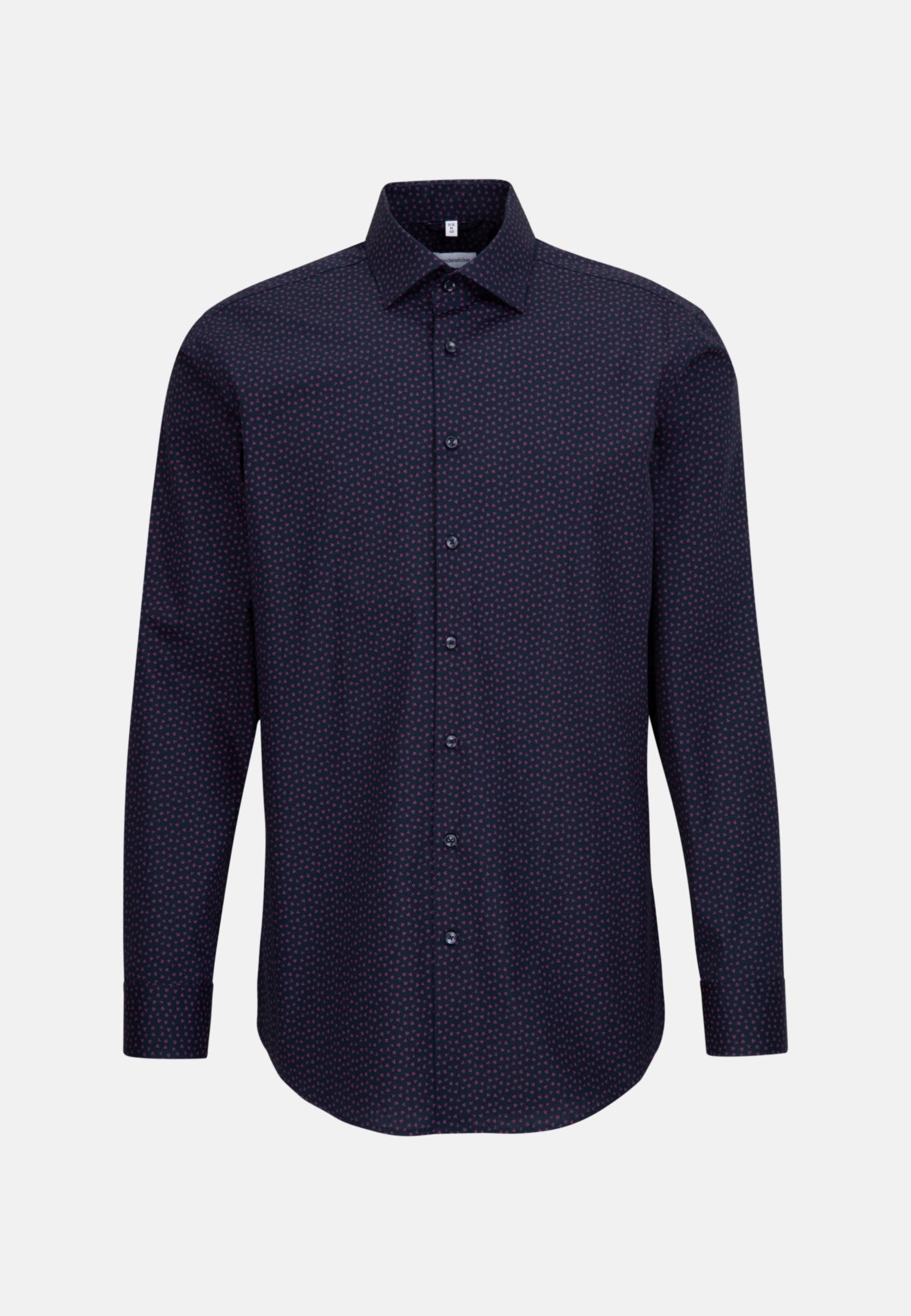 Easy-iron Poplin Business Shirt in Regular with Kent-Collar in Pink |  Seidensticker Onlineshop