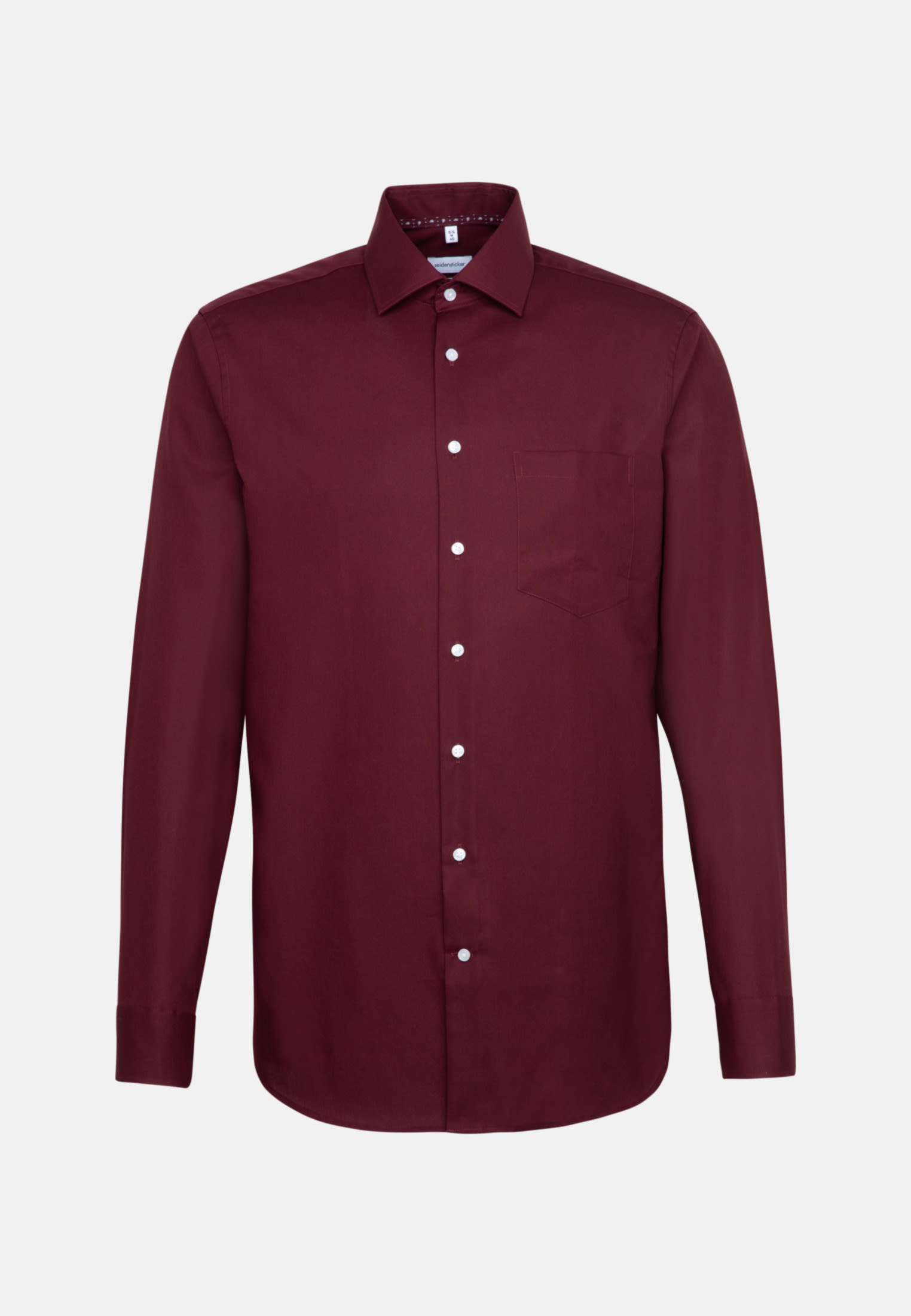 Bügelfreies Popeline Business Hemd in Comfort mit Kentkragen in Rot |  Seidensticker Onlineshop