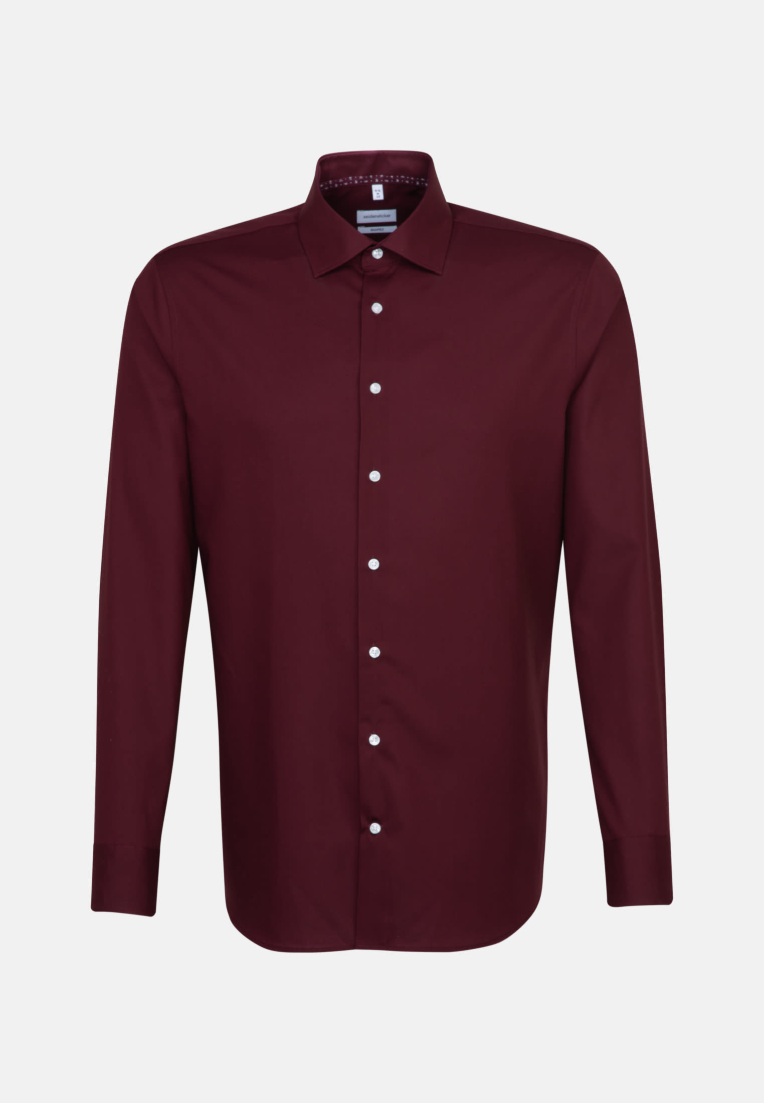 Non-iron Poplin Business Shirt in Shaped with Kent-Collar in Red |  Seidensticker Onlineshop