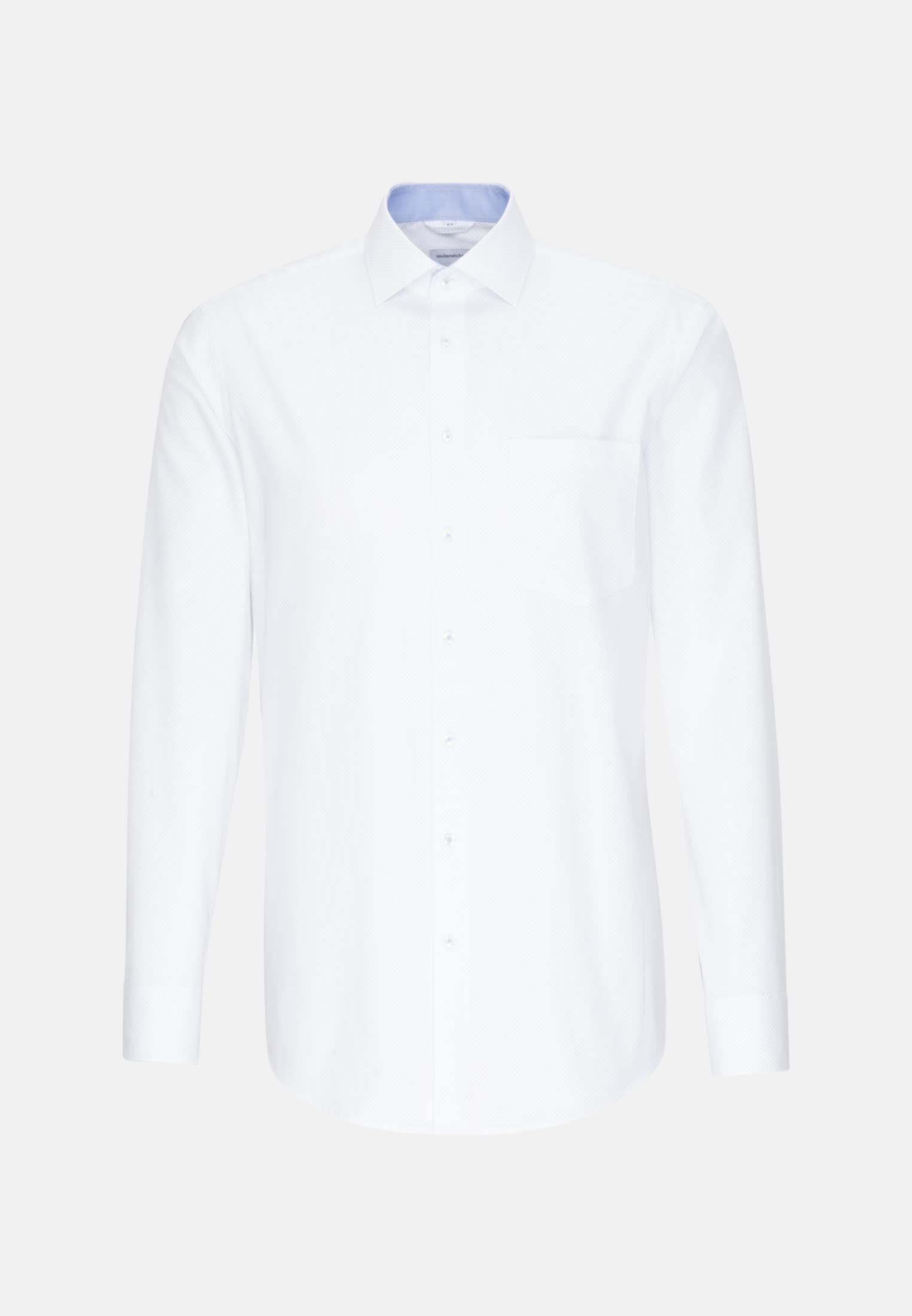 Easy-iron Oxford Business Shirt in Comfort with Kent-Collar in Light blue |  Seidensticker Onlineshop