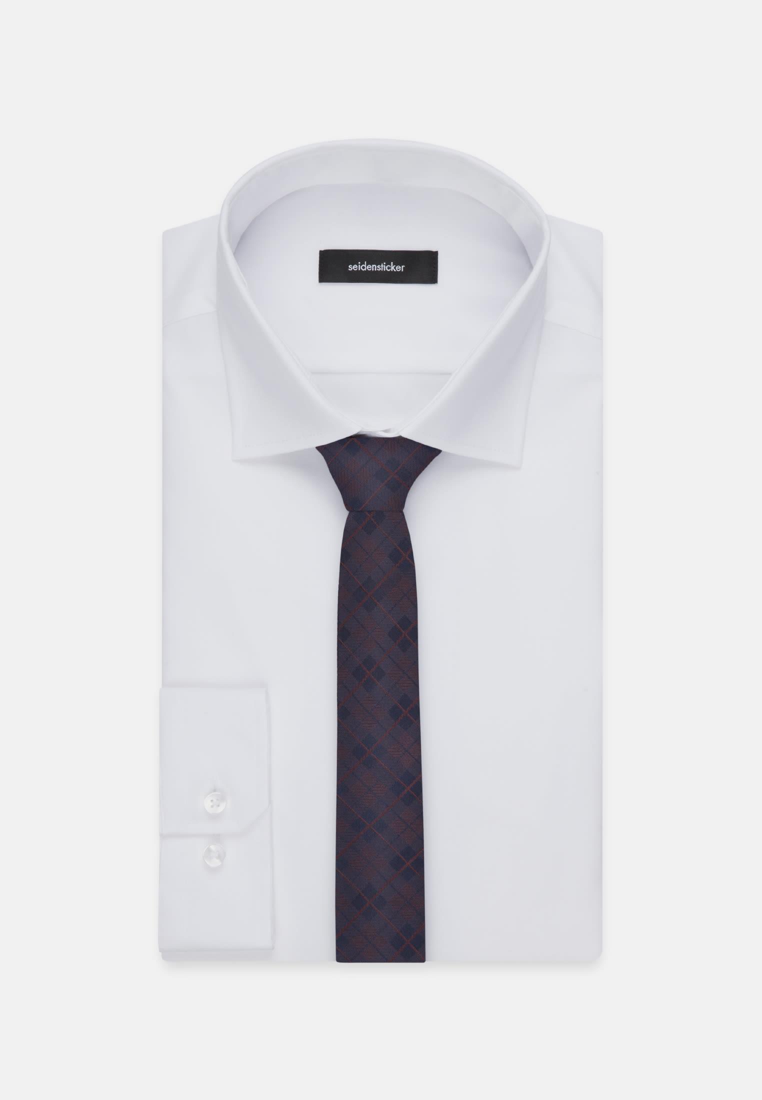 Krawatte aus 100% Seide 5 cm Breit in Rot |  Seidensticker Onlineshop