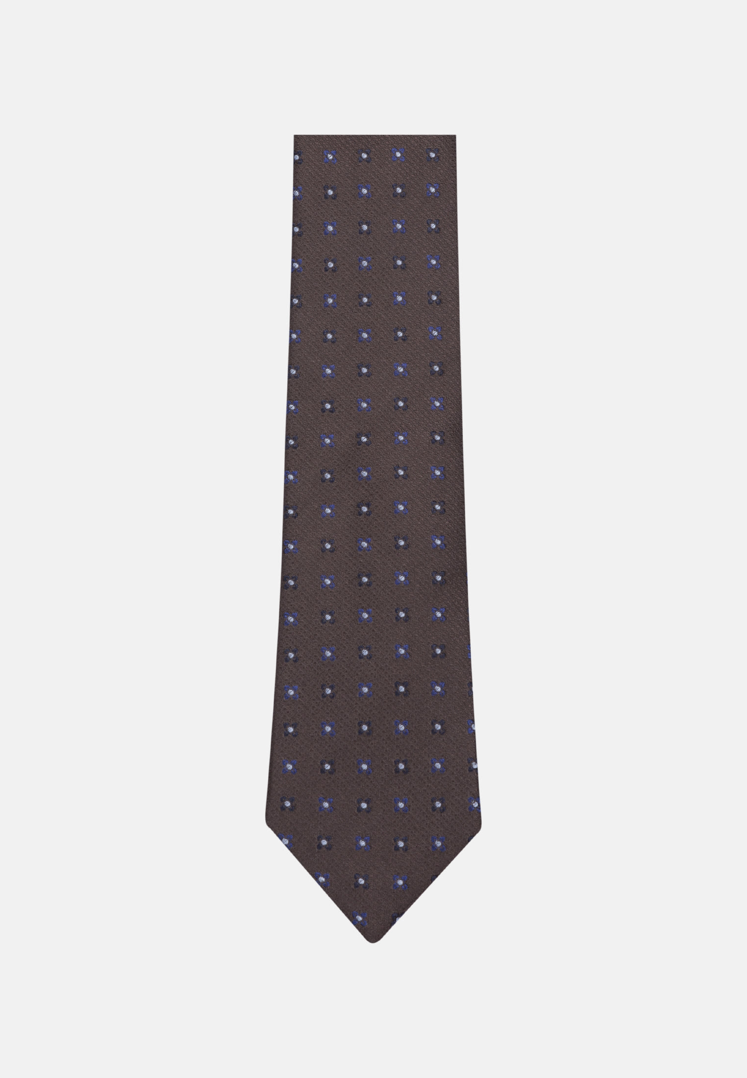 Tie made of 100% Silk 7 cm wide in Brown |  Seidensticker Onlineshop