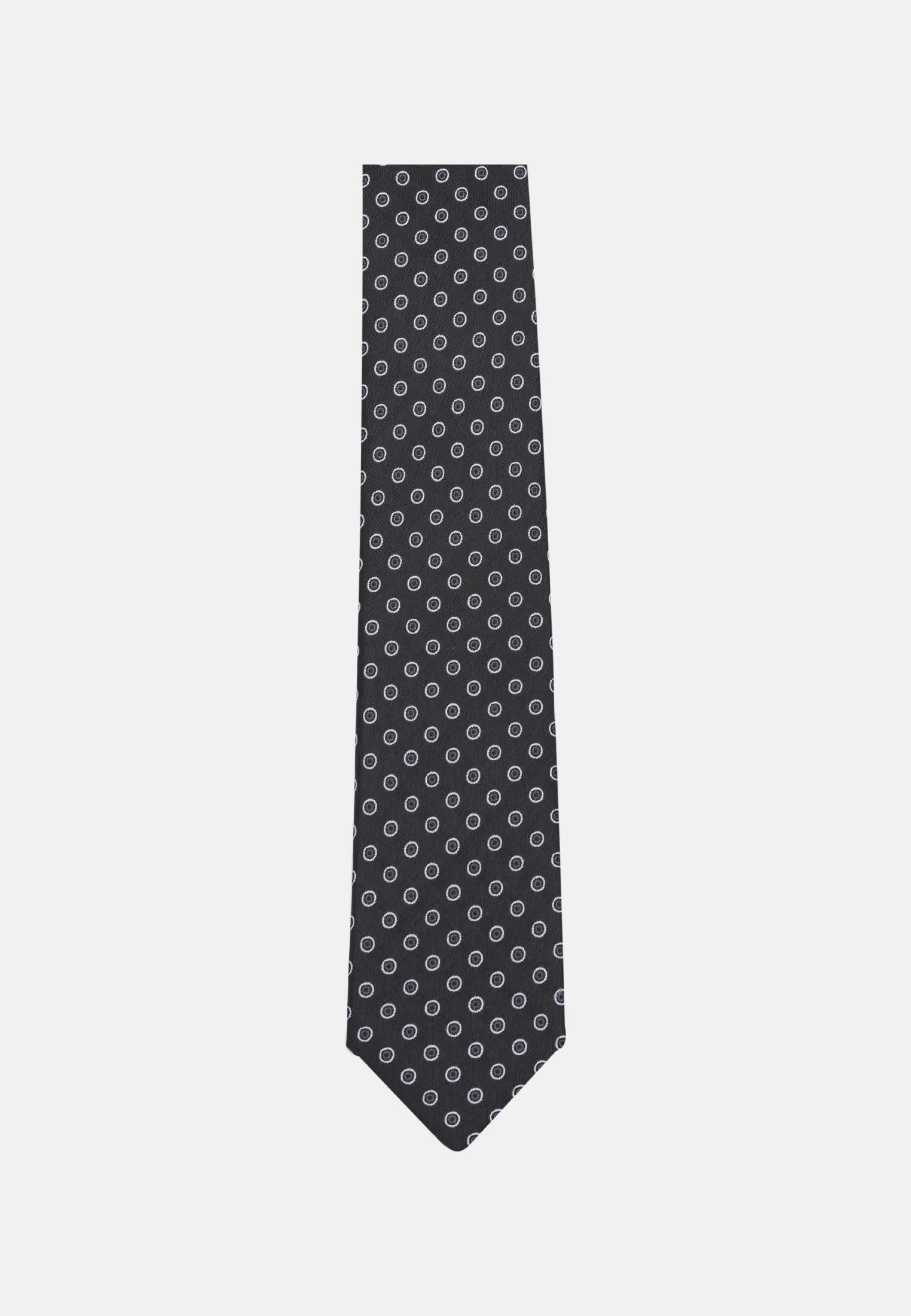 Krawatte aus 100% Seide 6 cm Breit in Schwarz |  Seidensticker Onlineshop