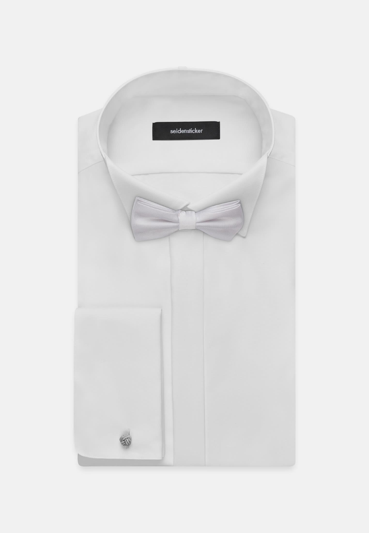 Bow Tie made of 100% Silk in White |  Seidensticker Onlineshop
