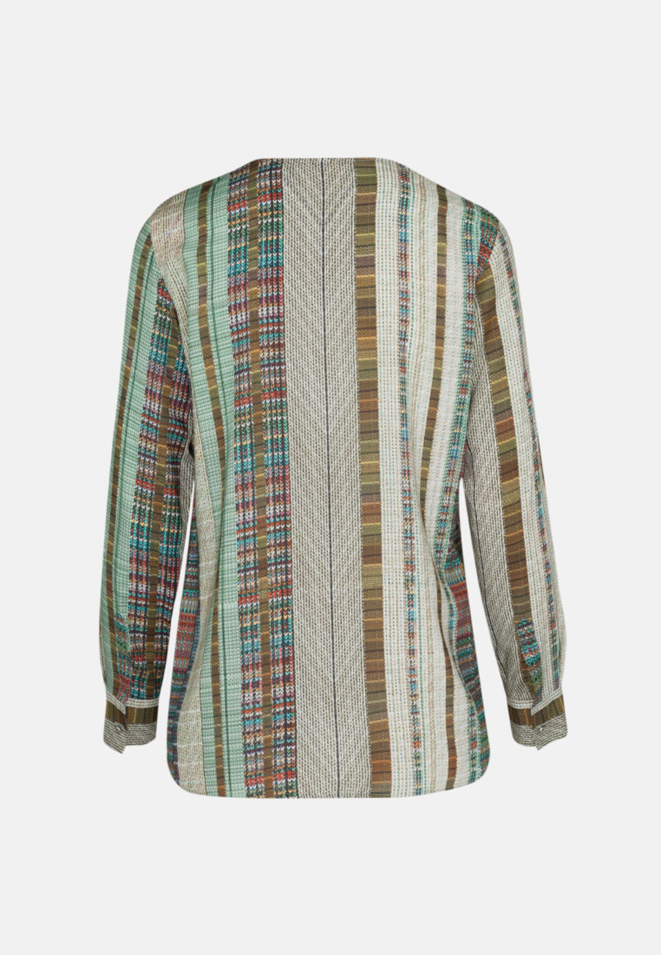 Voile Shirtbluse aus in Grün |  Seidensticker Onlineshop