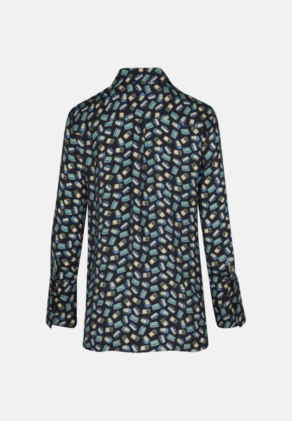 Poplin Shirt Blouse made of in Turquoise |  Seidensticker Onlineshop