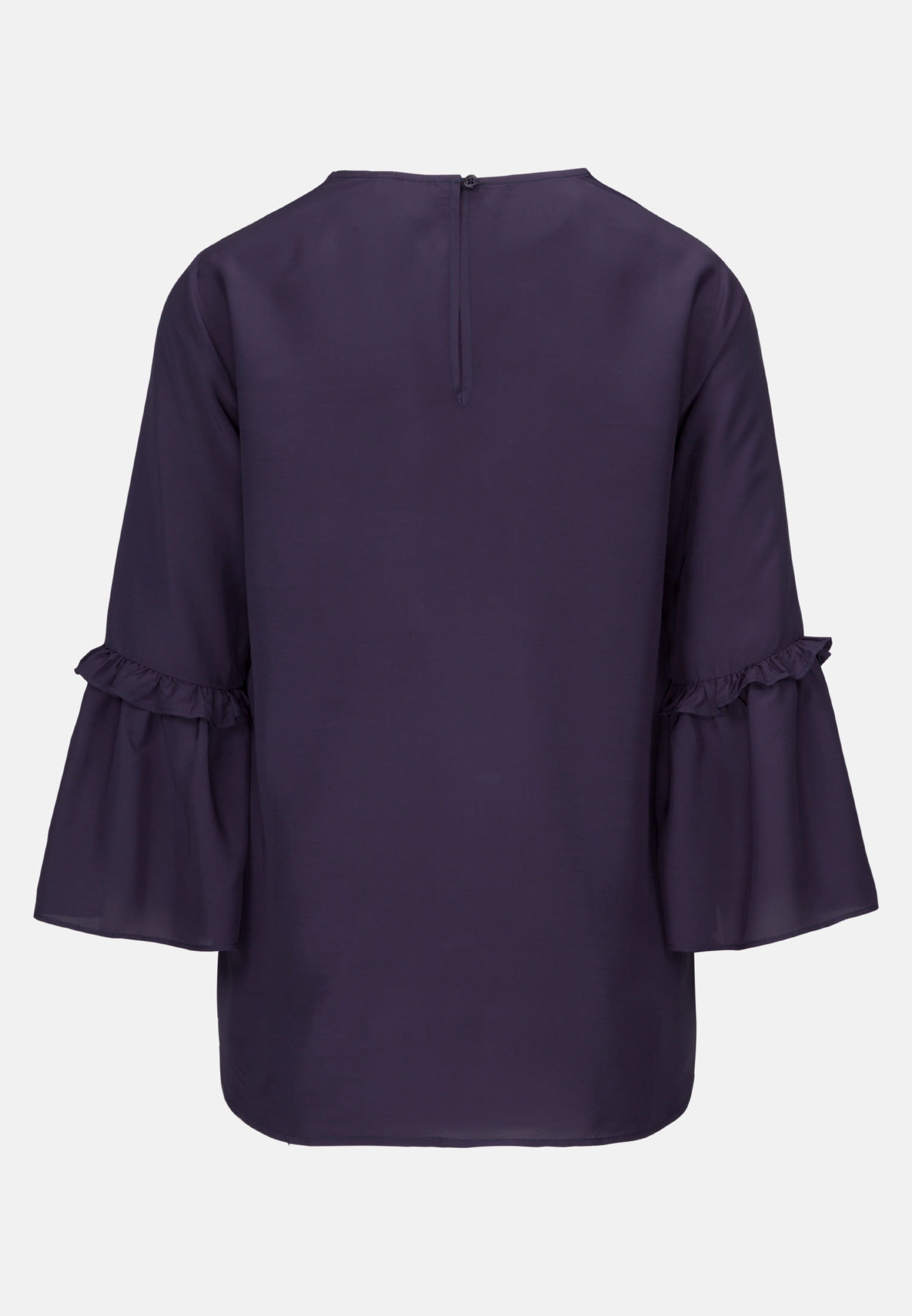 3/4 arm Voile Shirt Blouse aus 100% Viskose in Dark blue |  Seidensticker Onlineshop