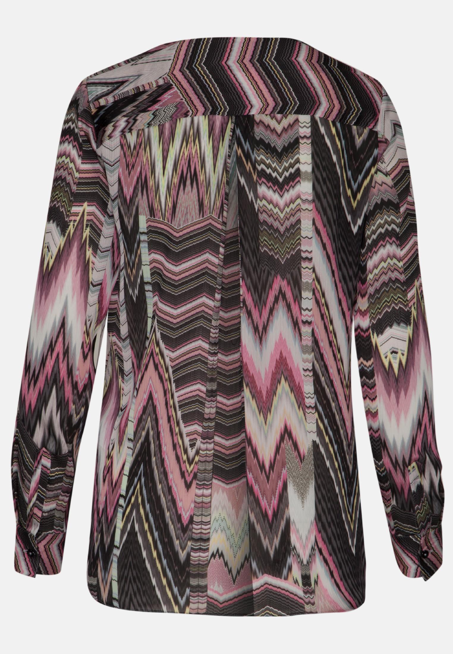 Voile Shirtbluse aus 100% Polyester in Rosa/Pink |  Seidensticker Onlineshop