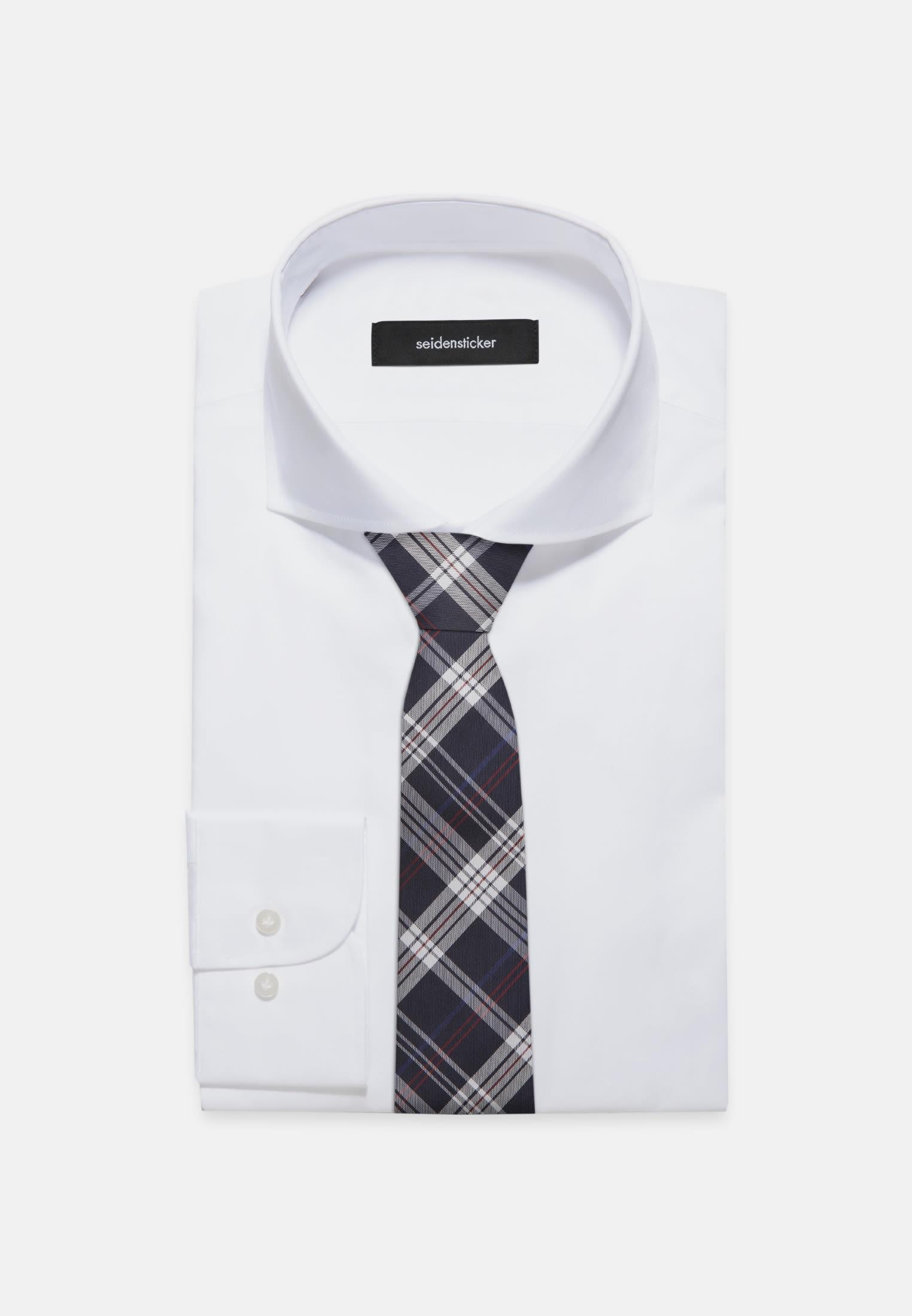 Tie made of 100% Silk 7 cm wide in marine |  Seidensticker Onlineshop