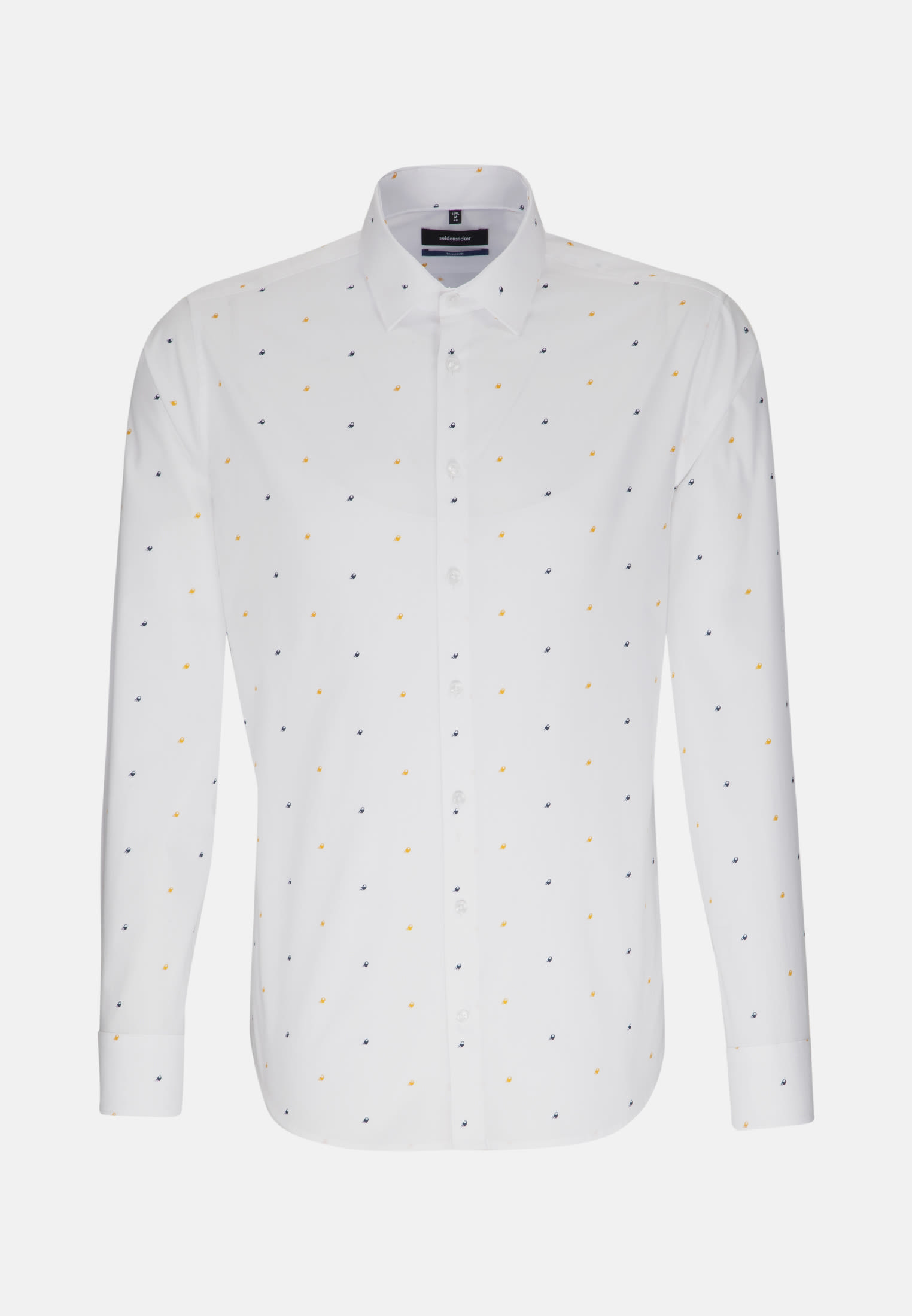 Easy-iron Poplin Business Shirt in Tailored with Kent-Collar in White |  Seidensticker Onlineshop