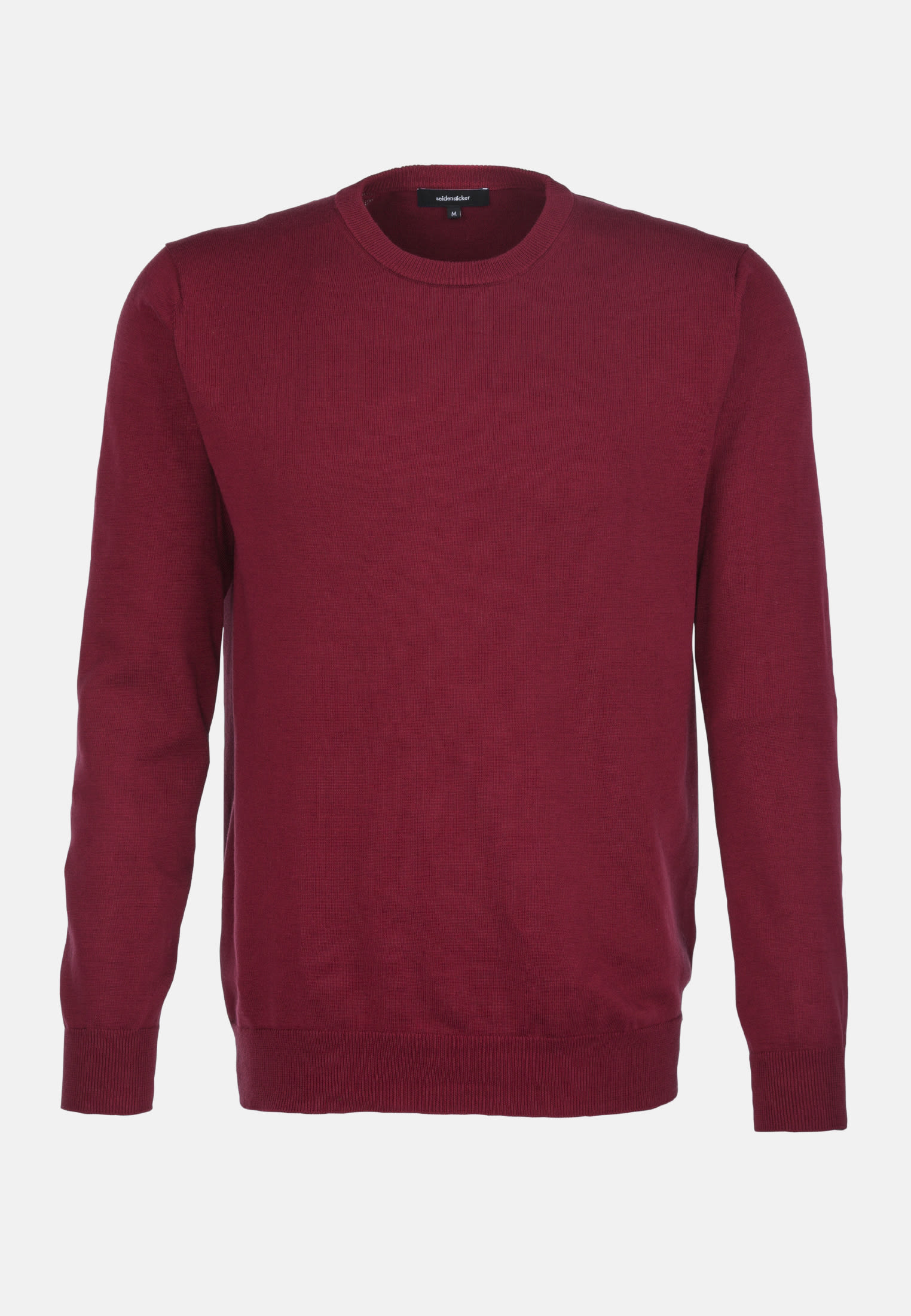 Crew Neck Pullover made of 100% Cotton in Red |  Seidensticker Onlineshop