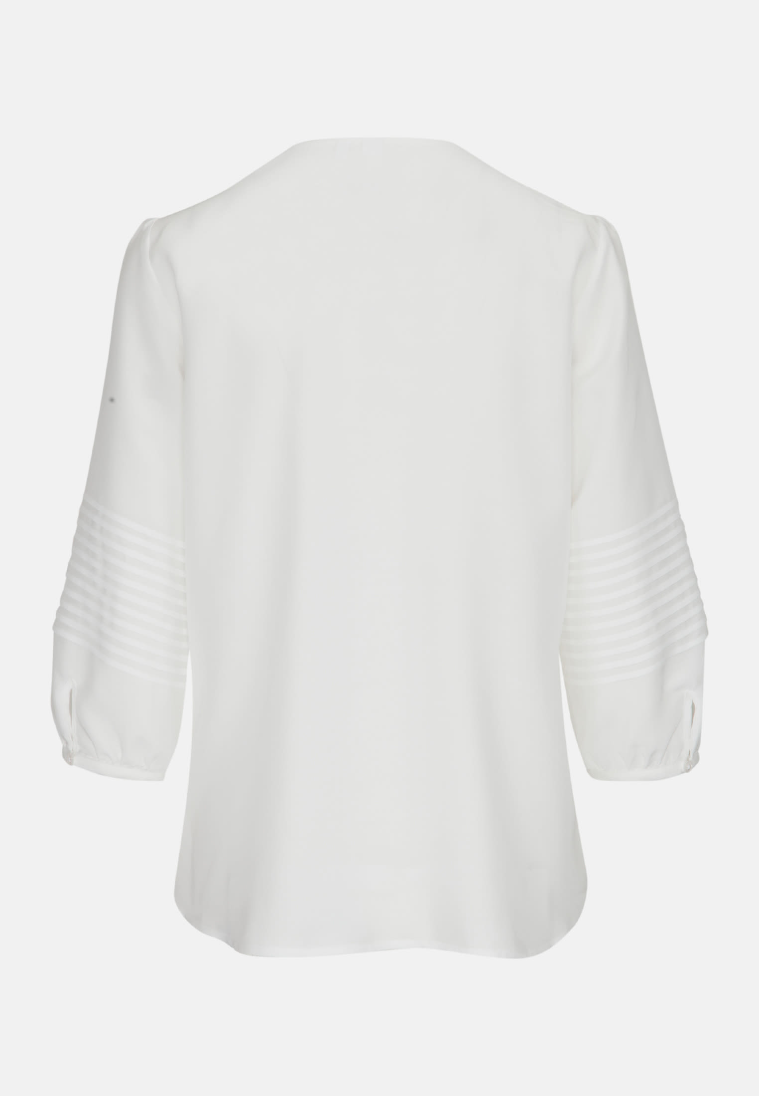 3/4 Arm Voile Shirtbluse aus 100% Viskose in Ecru |  Seidensticker Onlineshop