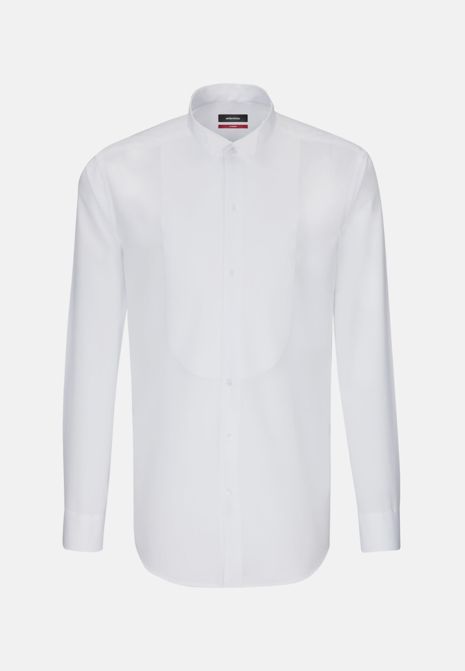 Non-iron Poplin Gala Shirt in Regular with Wing Collar in White |  Seidensticker Onlineshop