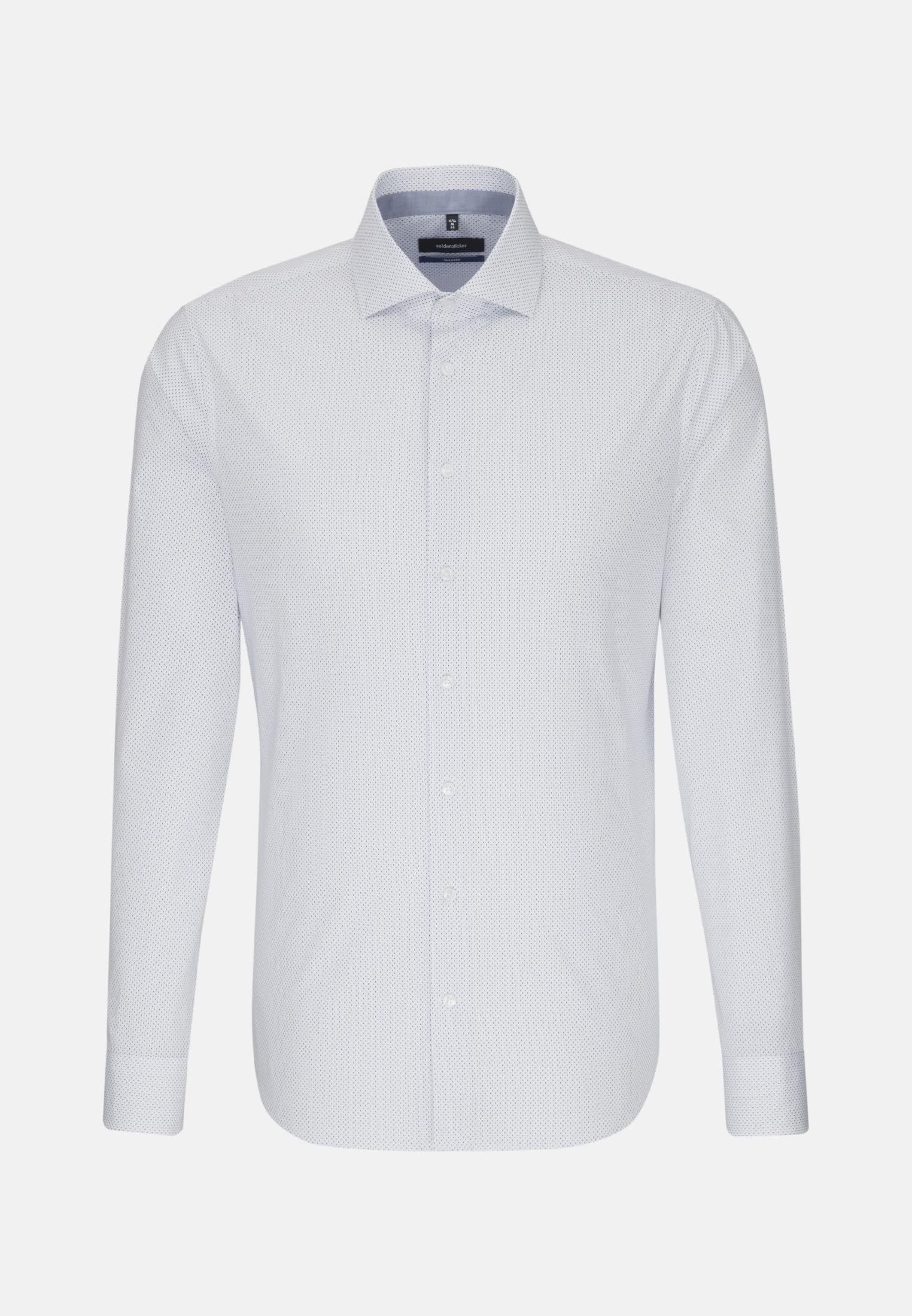 Easy-iron Poplin Business Shirt in Tailored with Kent-Collar in Light blue |  Seidensticker Onlineshop