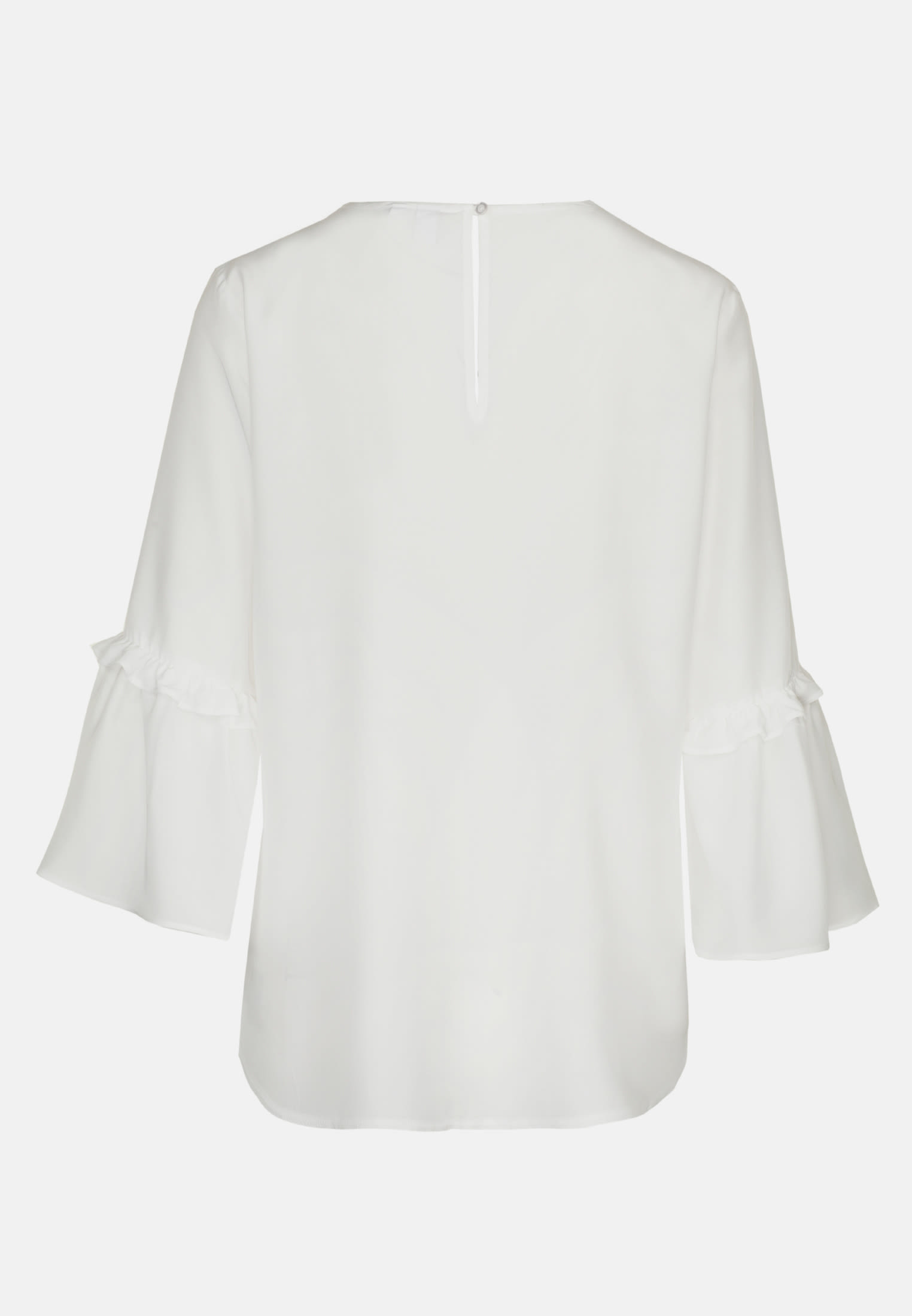 3/4 sleeve Voile Shirt Blouse aus 100% Viscose in Ecru    Seidensticker Onlineshop