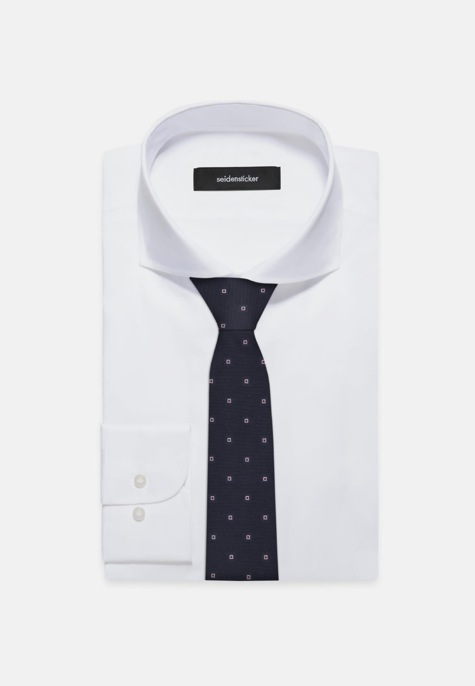 Tie made of 100% Silk 7 cm wide in rot |  Seidensticker Onlineshop