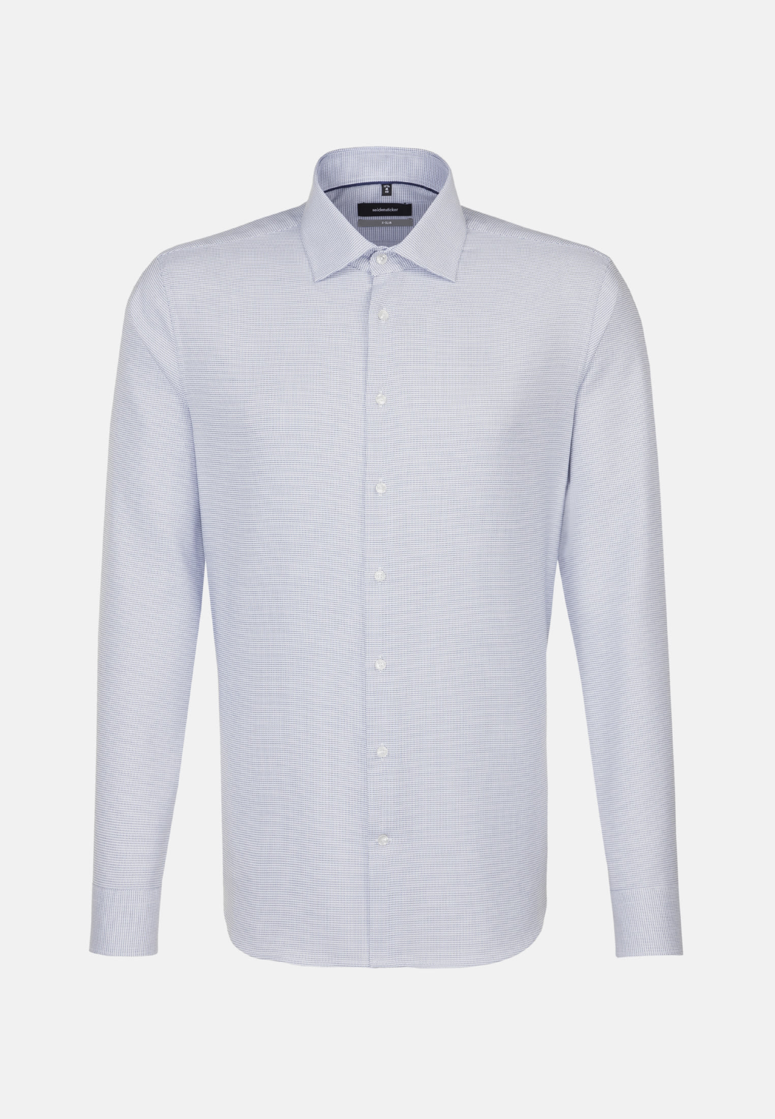 Easy-iron Structure Business Shirt in X-Slim with Kent-Collar in blau |  Seidensticker Onlineshop