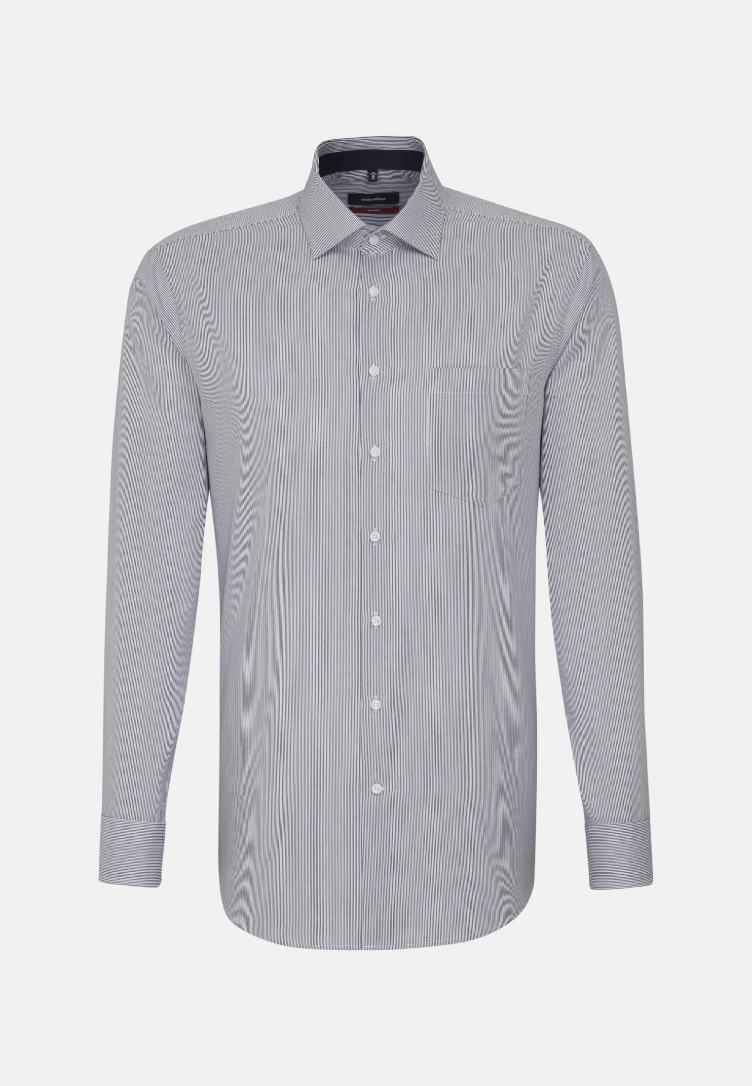 Bügelfreies Twill Business Hemd in Regular mit Kentkragen in Braun |  Seidensticker Onlineshop