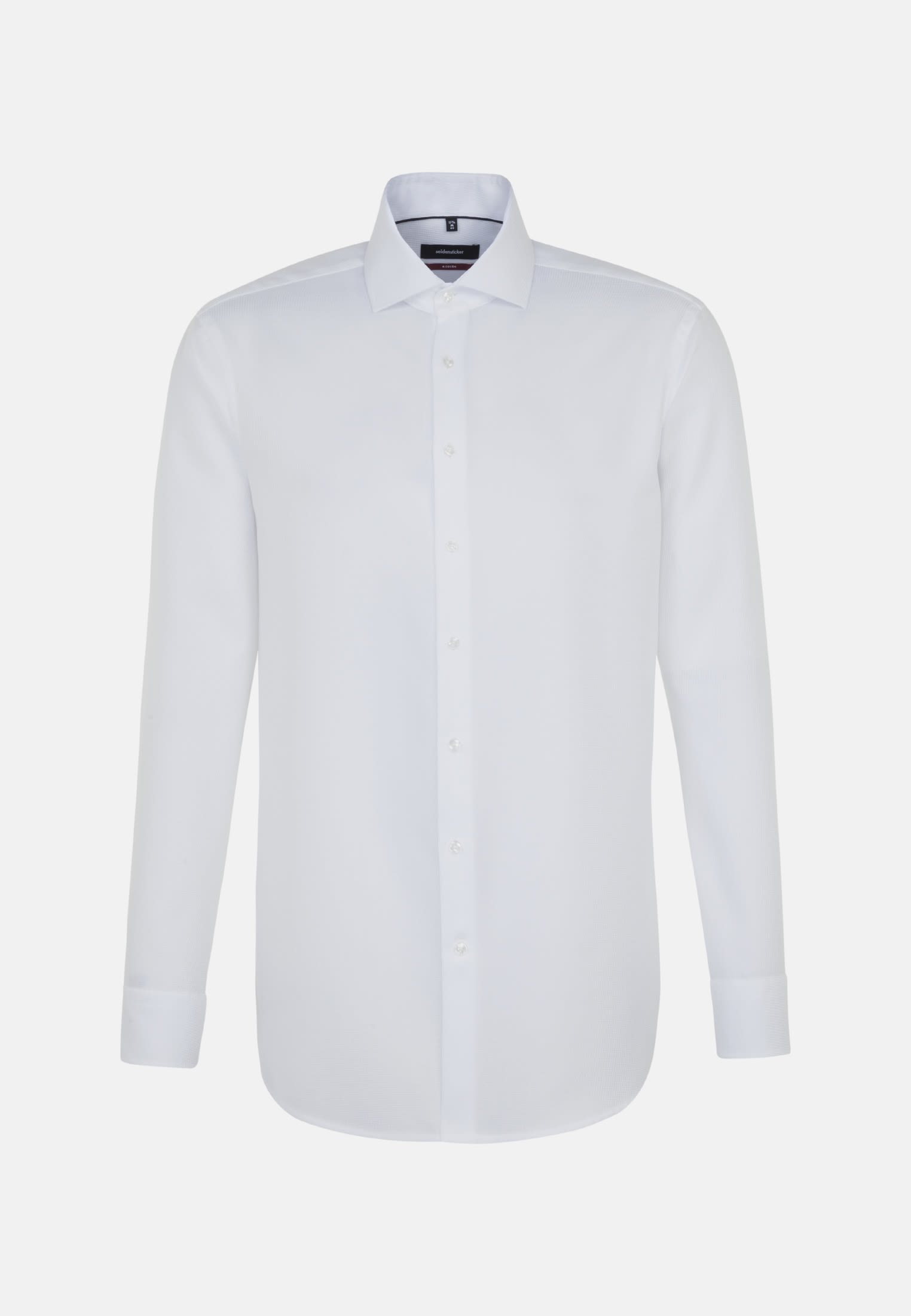 Non-iron Structure Business Shirt in Modern with Kent-Collar in White |  Seidensticker Onlineshop