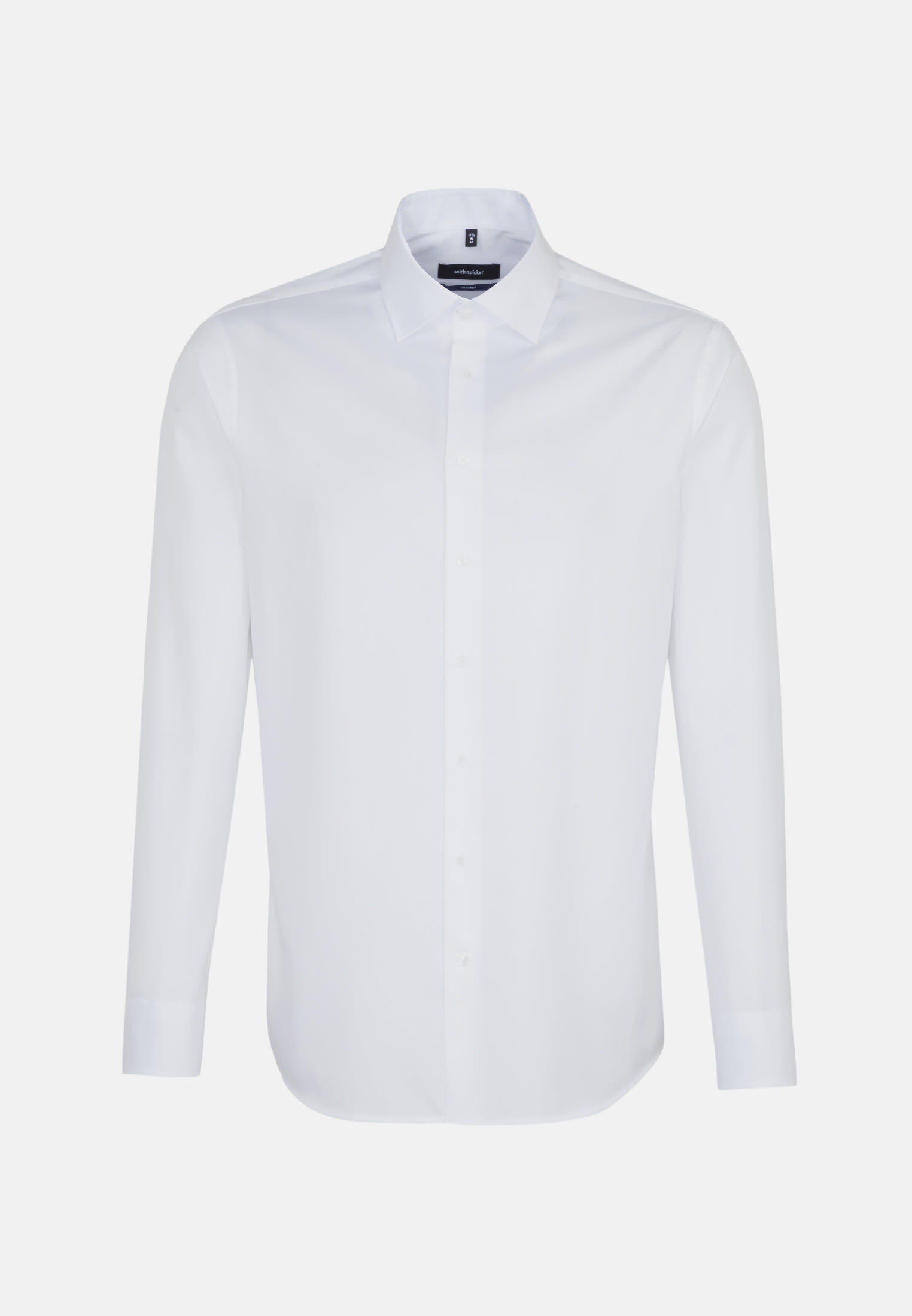 Easy-iron Twill Business Shirt in Tailored with Kent-Collar in White |  Seidensticker Onlineshop