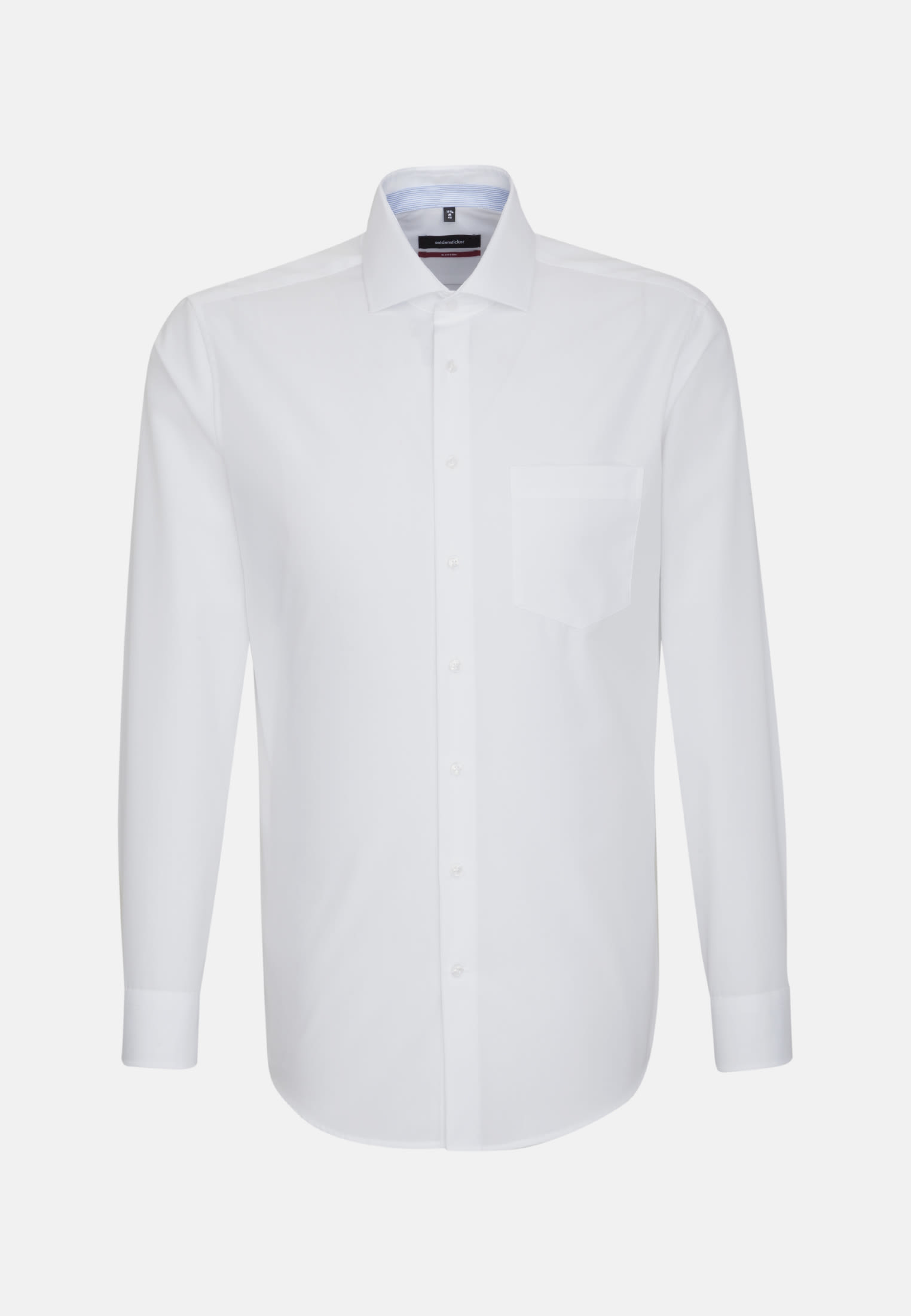 Non-iron Chambray Business Shirt in Regular with Kent-Collar in White |  Seidensticker Onlineshop