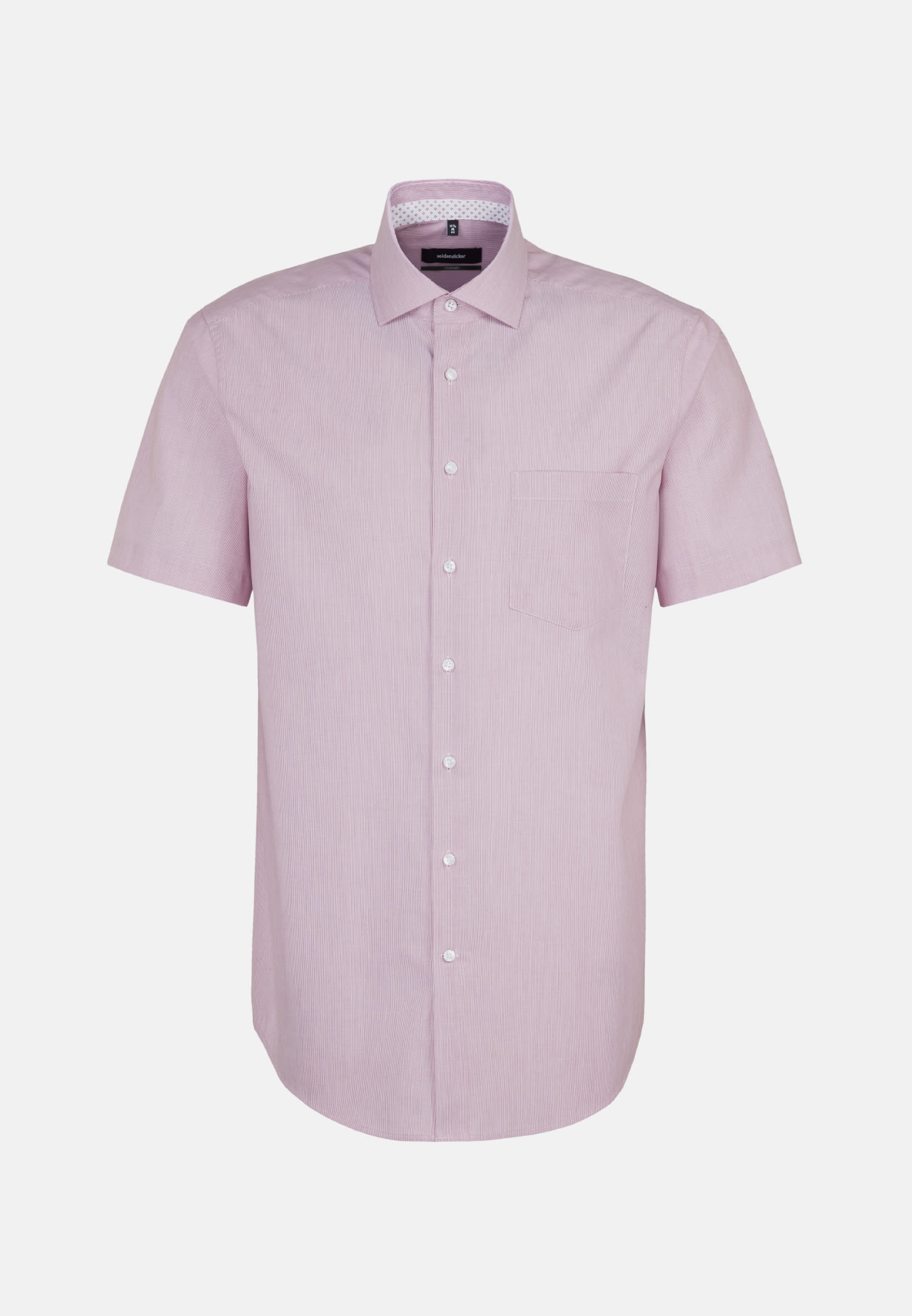 Non-iron Poplin Short sleeve Business Shirt in Comfort with Kent-Collar in Red |  Seidensticker Onlineshop