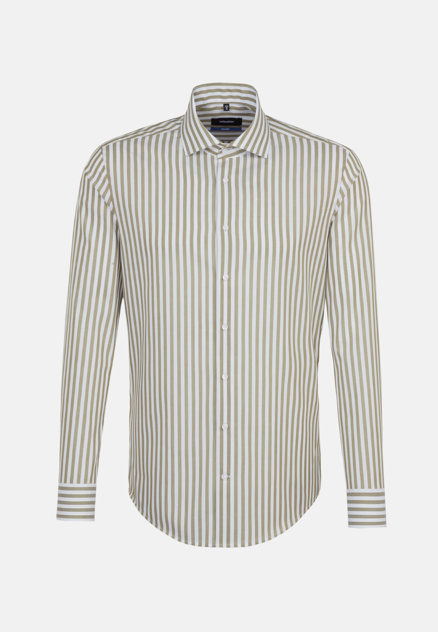 Bügelfreies Popeline Business Hemd in Tailored mit Kentkragen in Grün |  Seidensticker Onlineshop