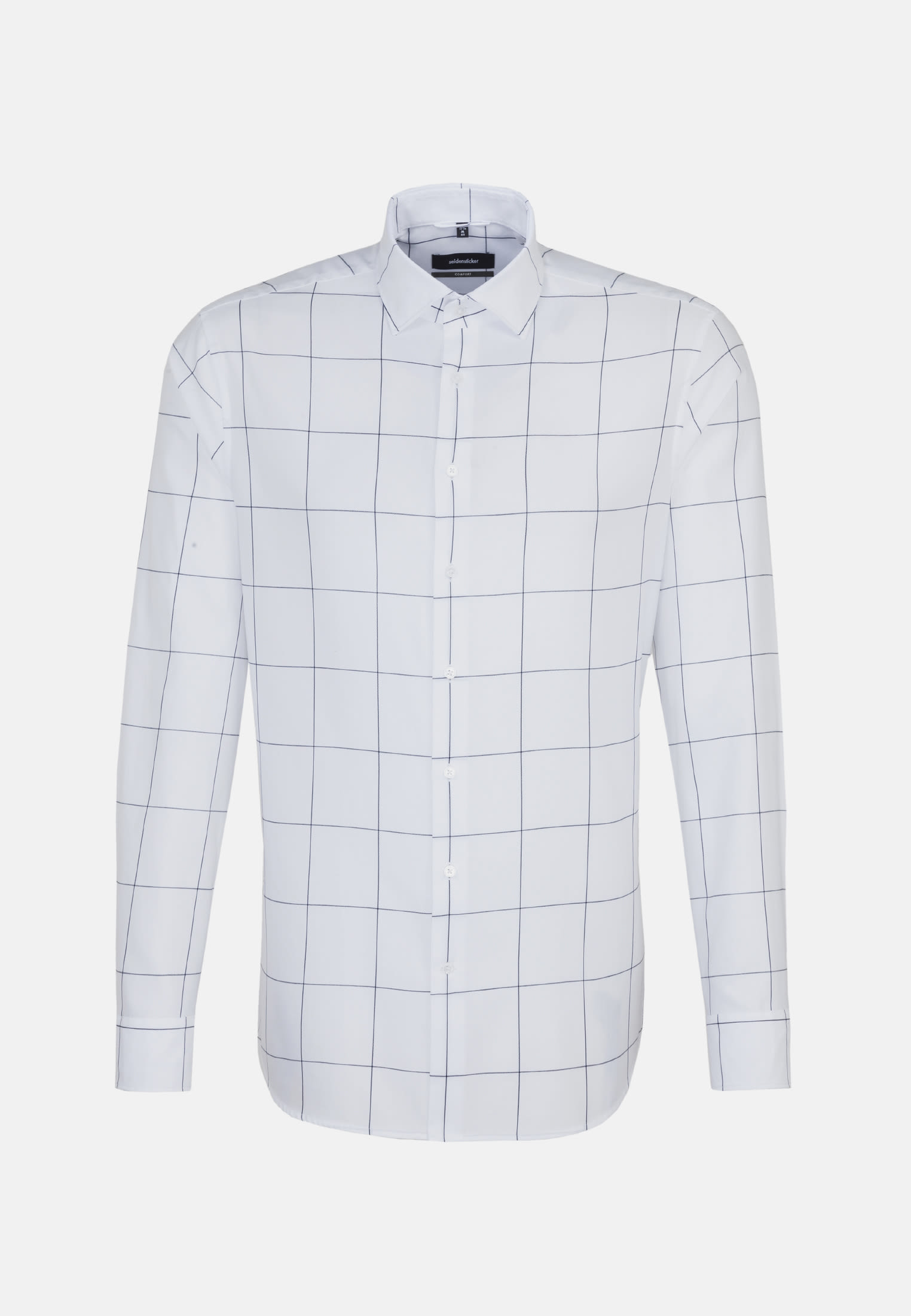 Easy-iron Twill Business Shirt in Comfort with Kent-Collar in Light blue |  Seidensticker Onlineshop