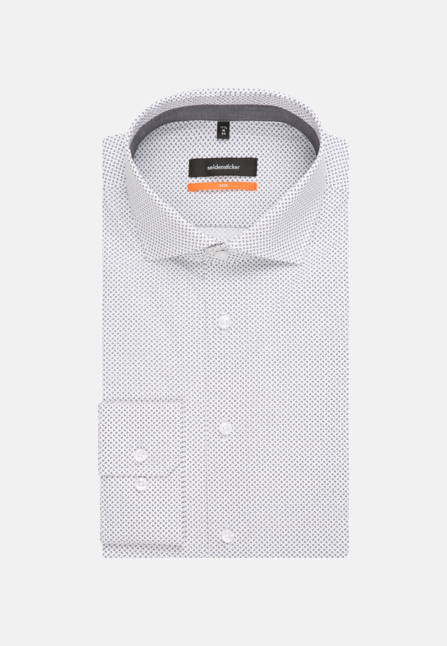 Easy-iron Poplin Business Shirt in Slim with Kent-Collar in White |  Seidensticker Onlineshop