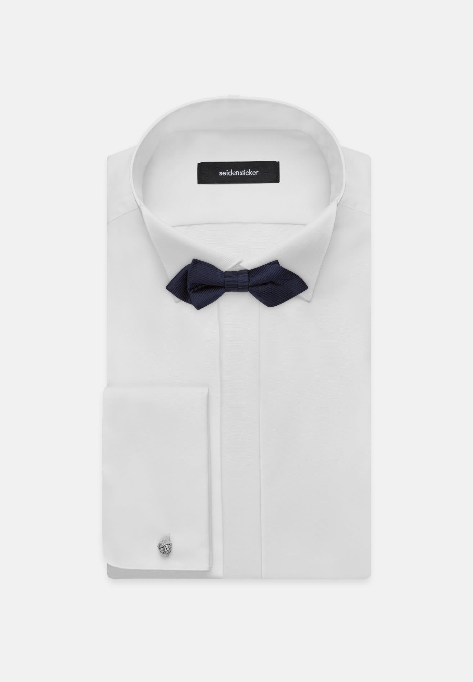 Bow Tie made of 100% Silk in Dark blue    Seidensticker Onlineshop